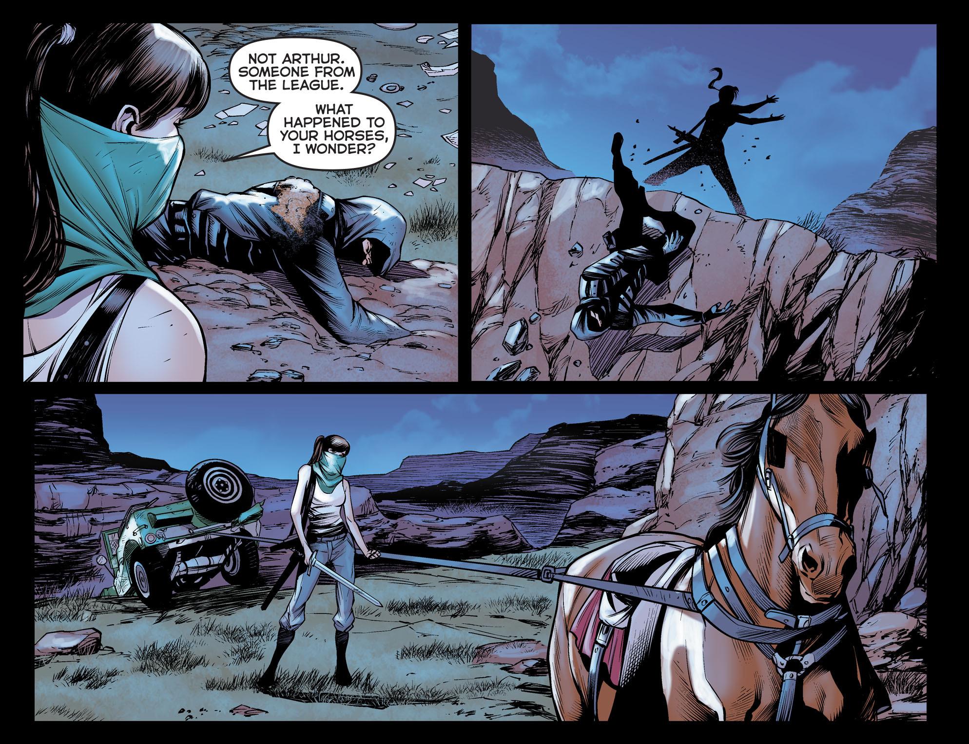 Read online Arrow: The Dark Archer comic -  Issue #5 - 11