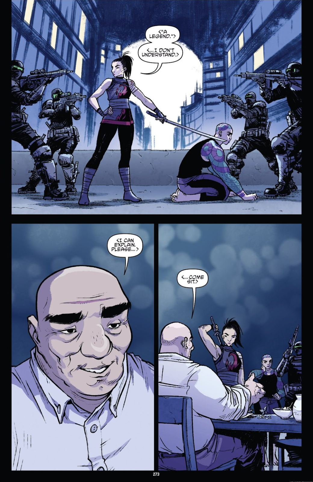 Read online Teenage Mutant Ninja Turtles: The IDW Collection comic -  Issue # TPB 9 (Part 3) - 70
