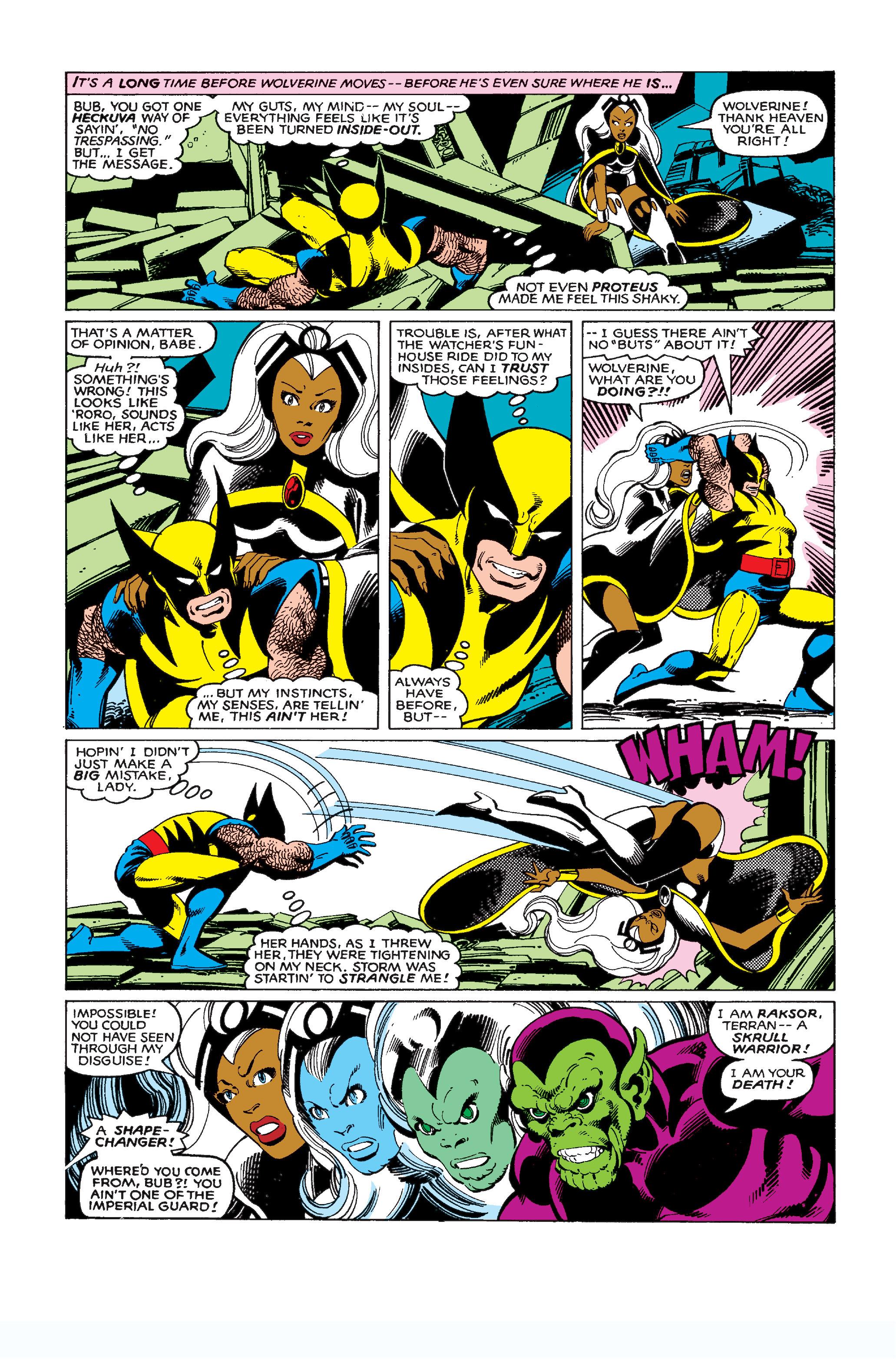 Uncanny X-Men (1963) 137 Page 21