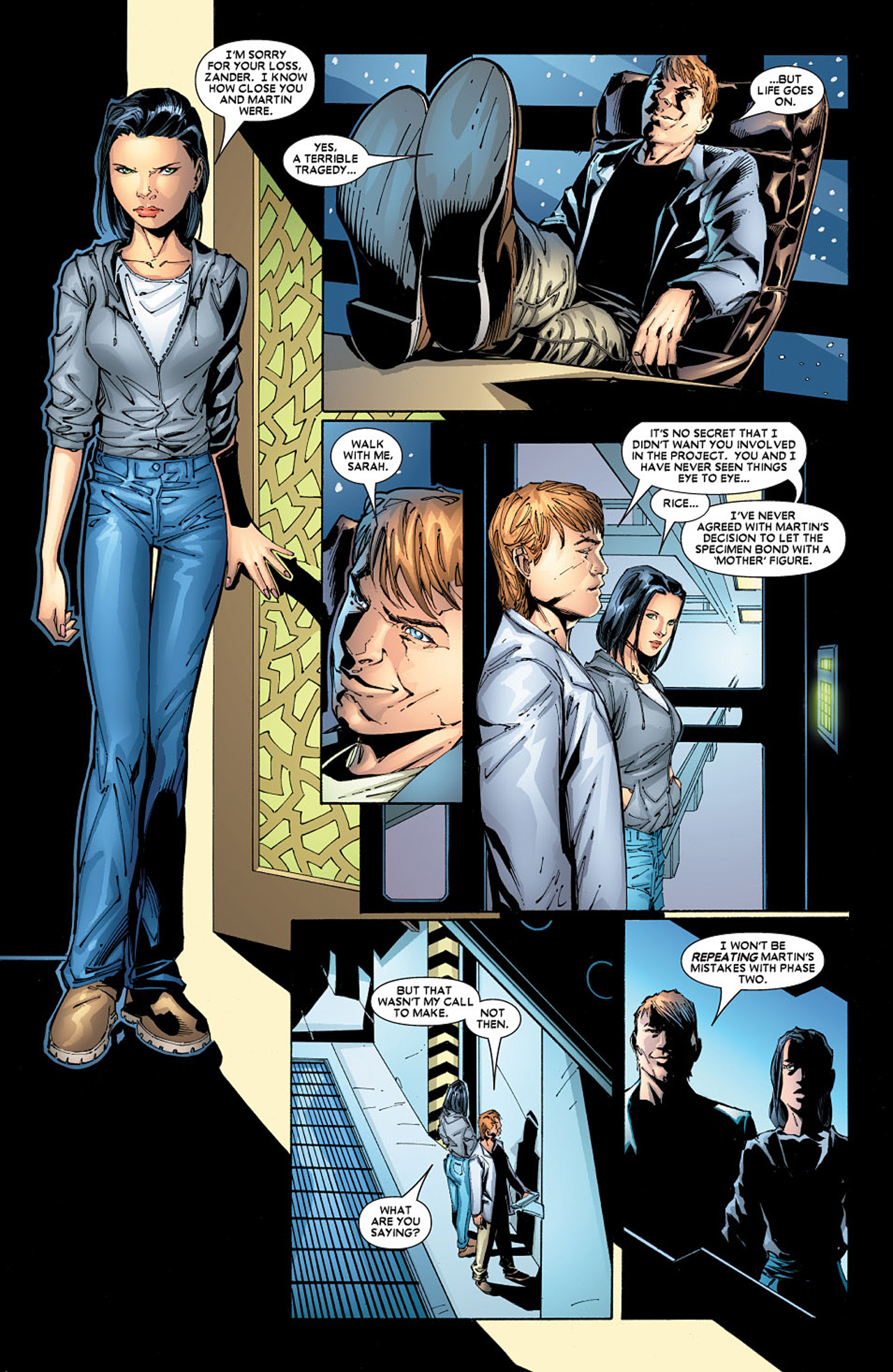 Read online X-23 (2005) comic -  Issue #5 - 14
