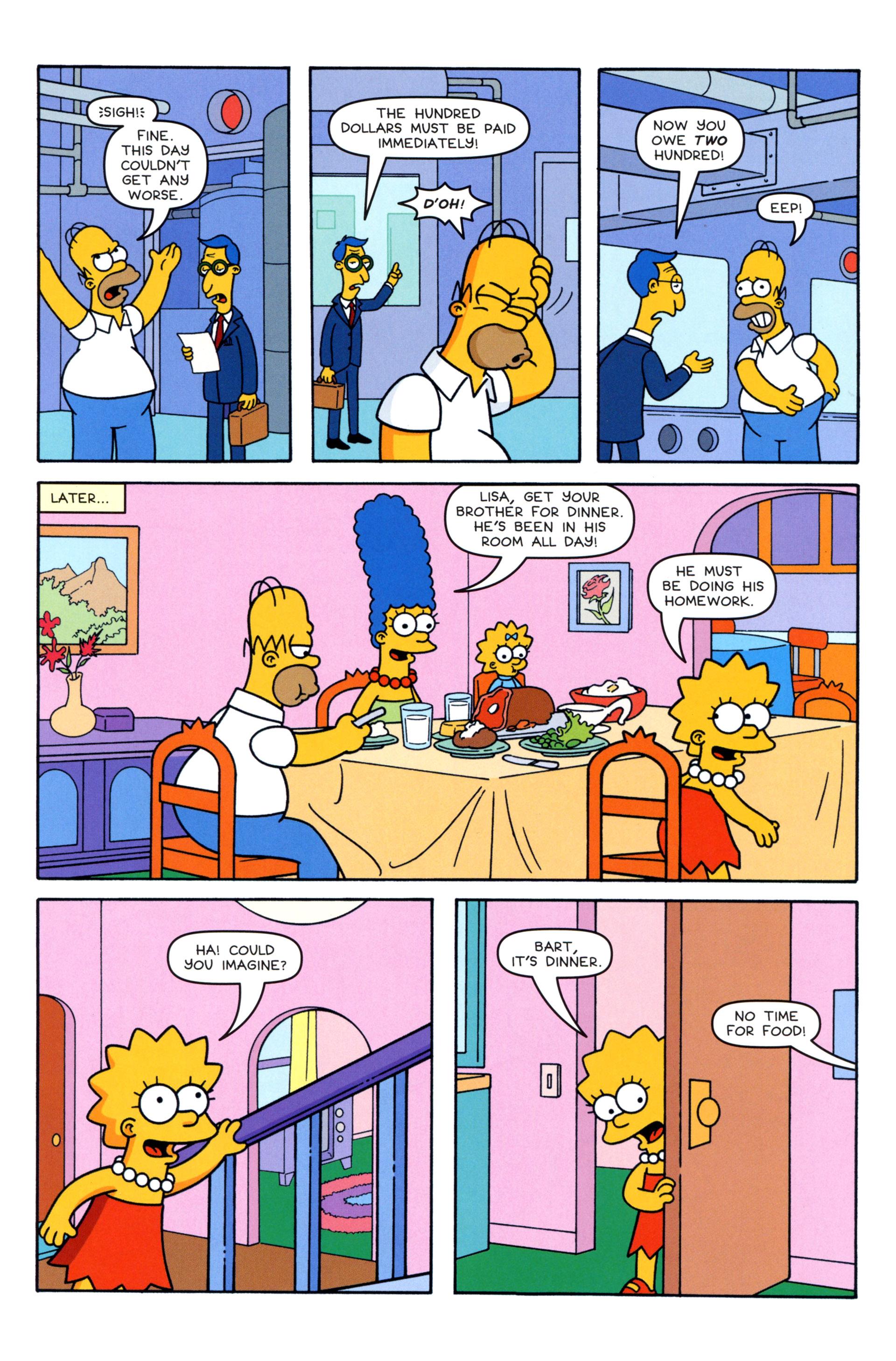 Read online Simpsons Comics comic -  Issue #203 - 13