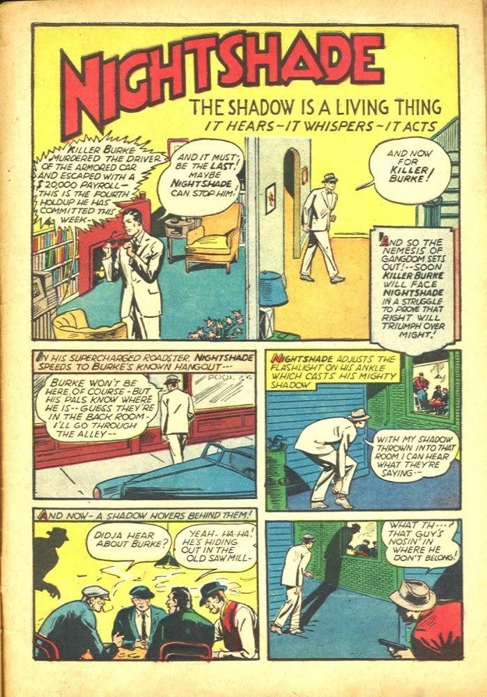Read online Amazing Man Comics comic -  Issue #25 - 61