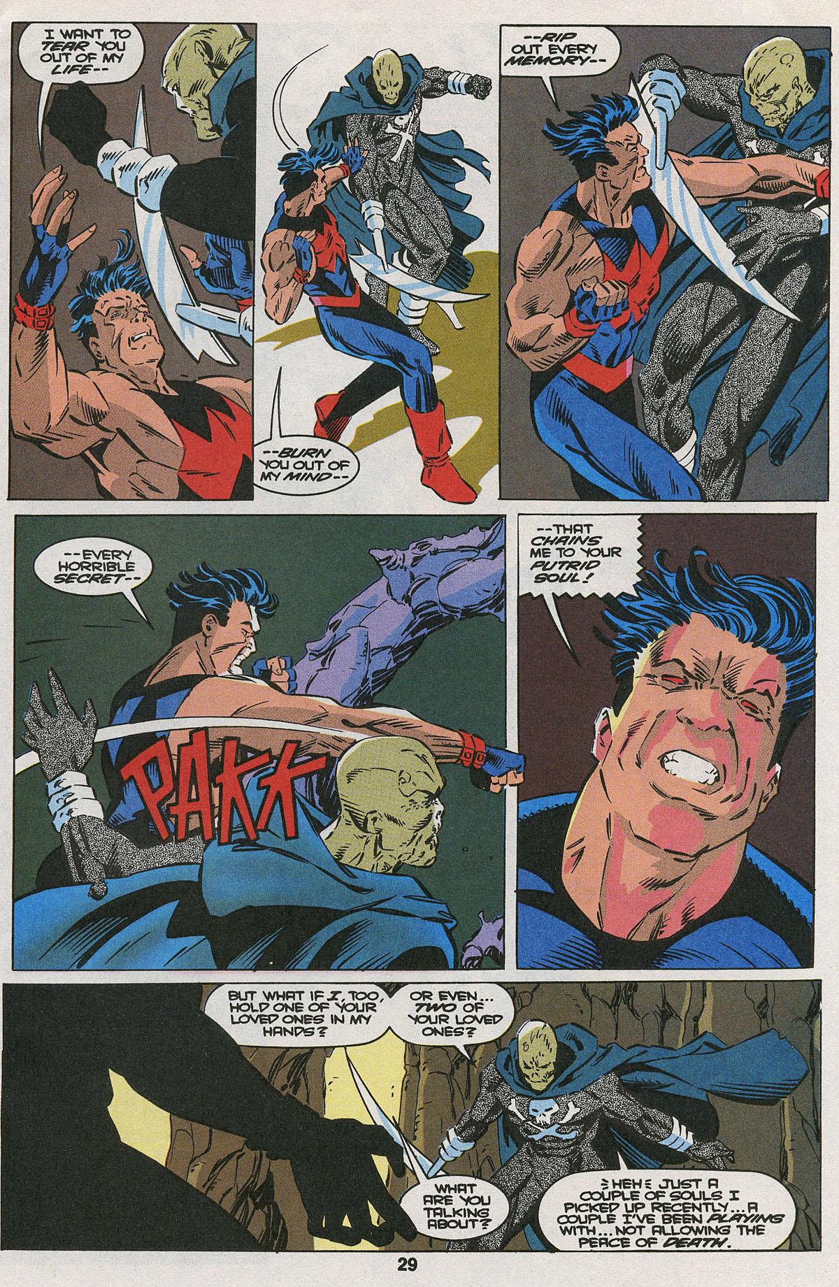 Read online Wonder Man (1991) comic -  Issue #22 - 21