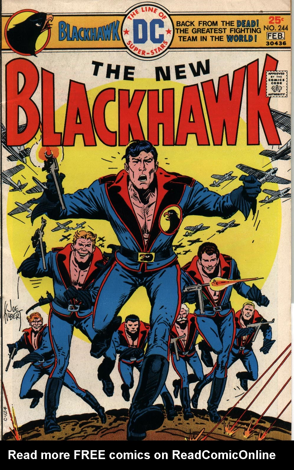 Blackhawk (1957) 244 Page 1