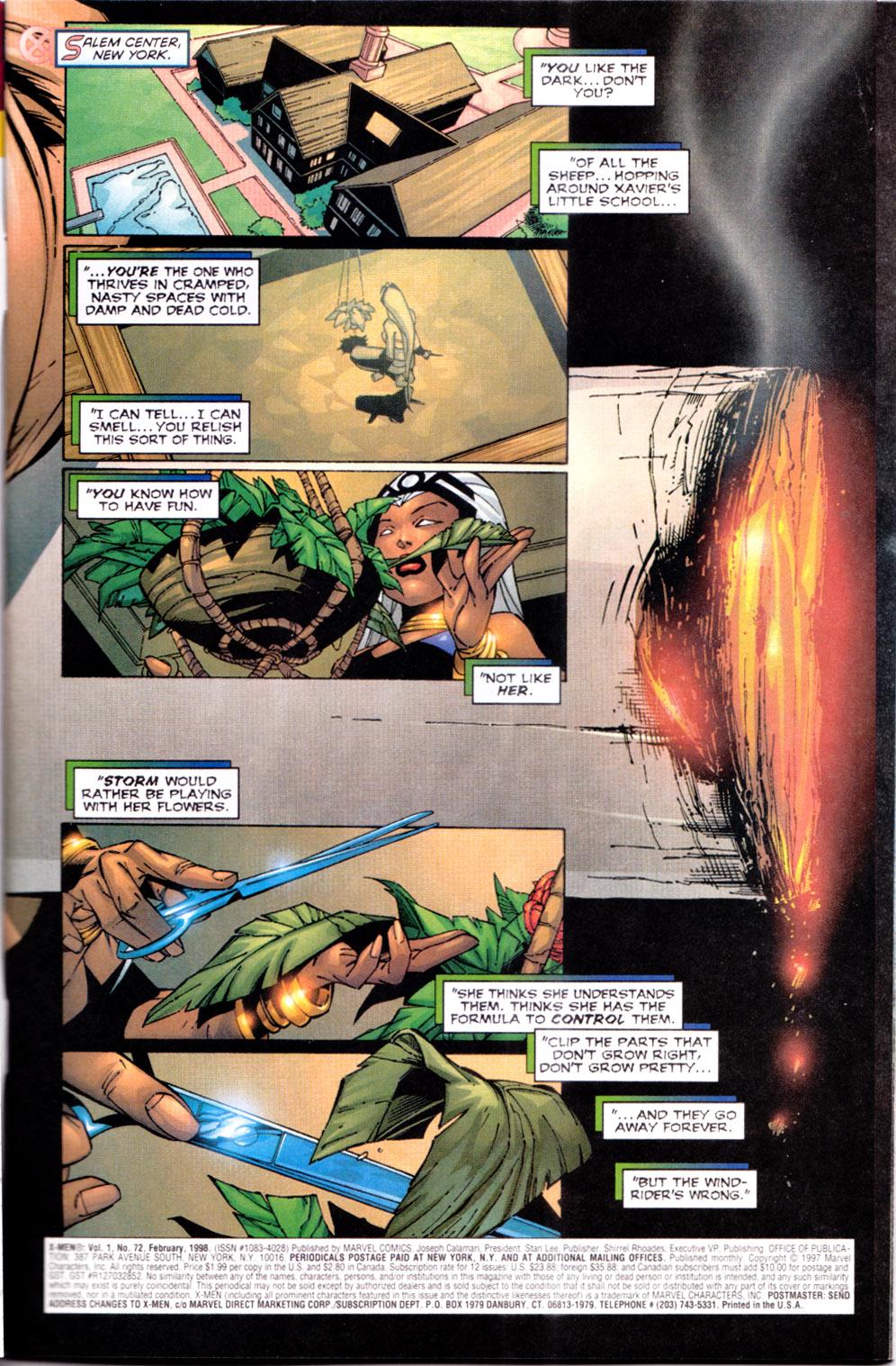 X-Men (1991) 72 Page 1