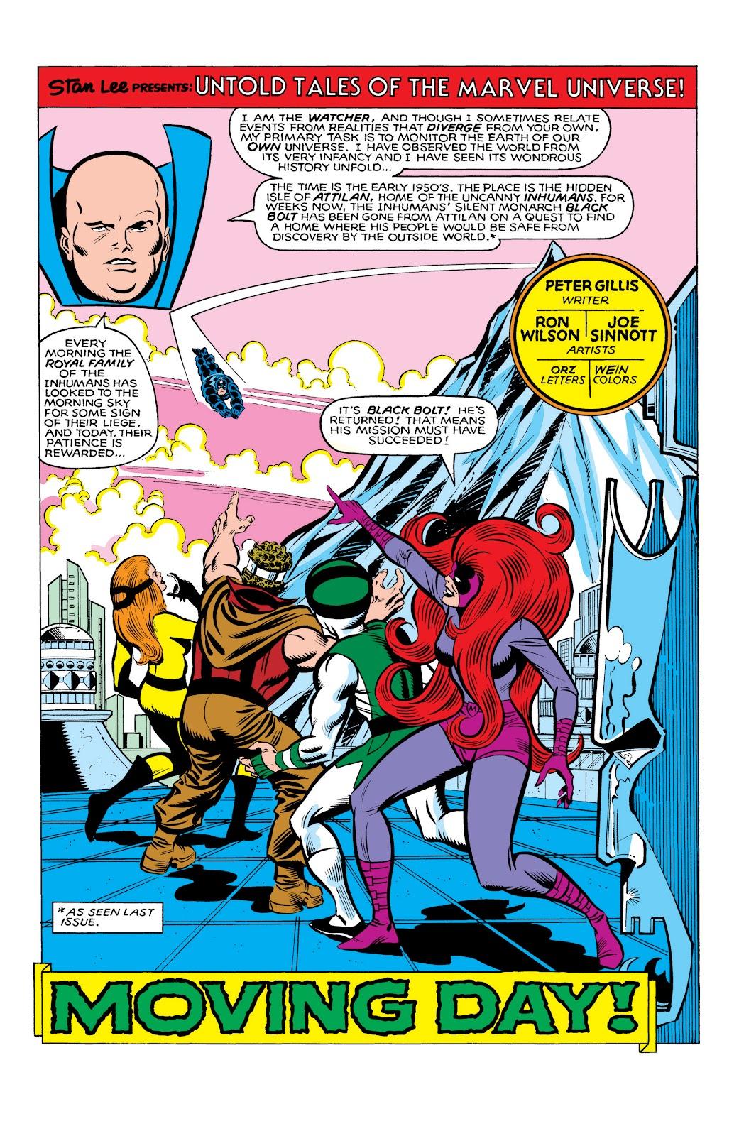 Read online Marvel Masterworks: The Inhumans comic -  Issue # TPB 2 (Part 3) - 90
