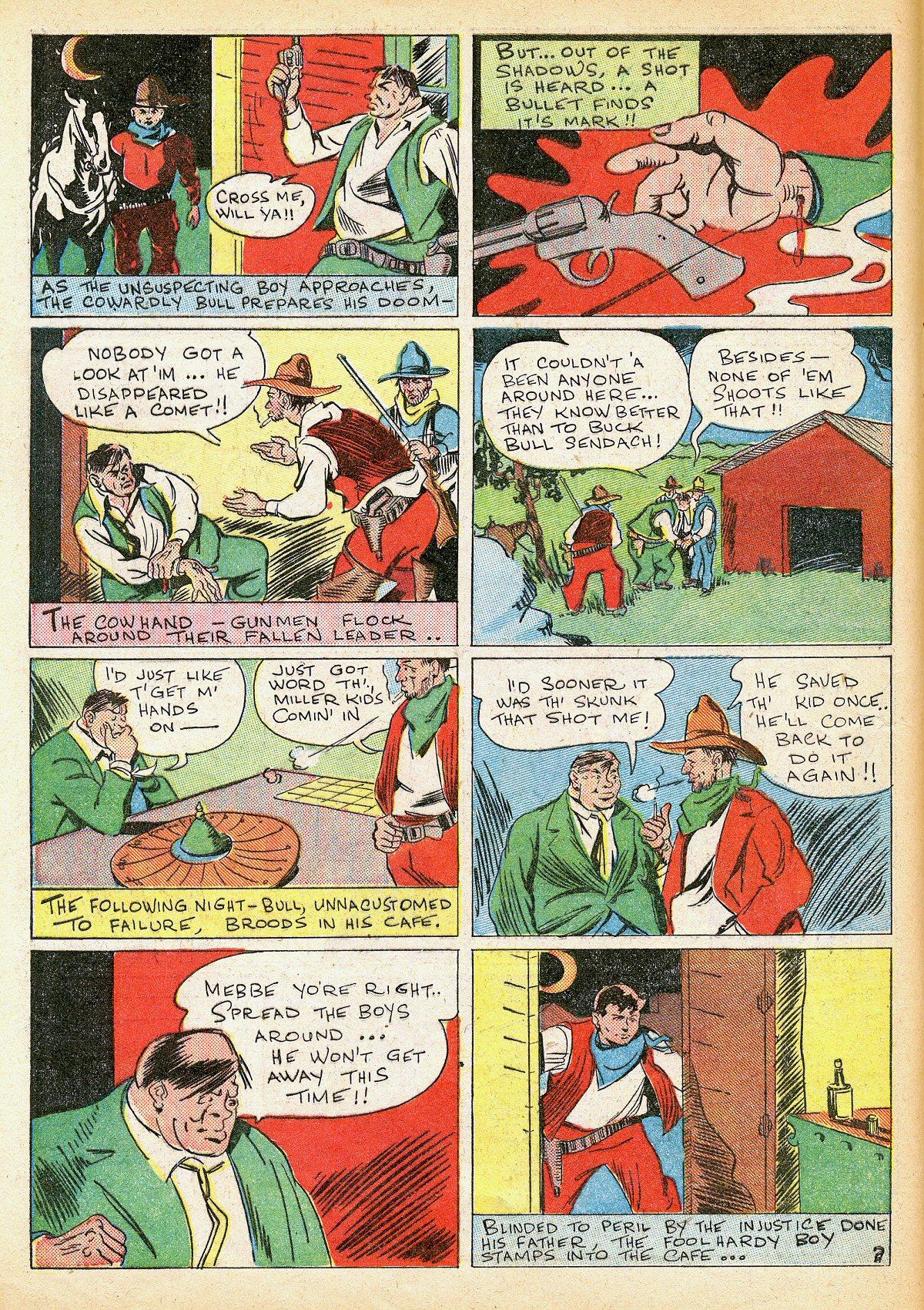 Read online Amazing Man Comics comic -  Issue #10 - 15