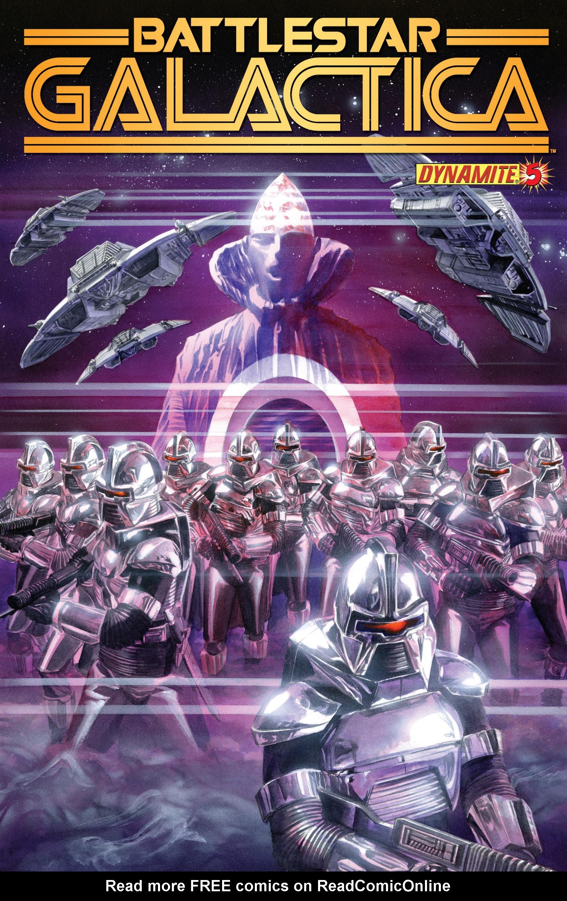 Classic Battlestar Galactica (2013) 5 Page 1