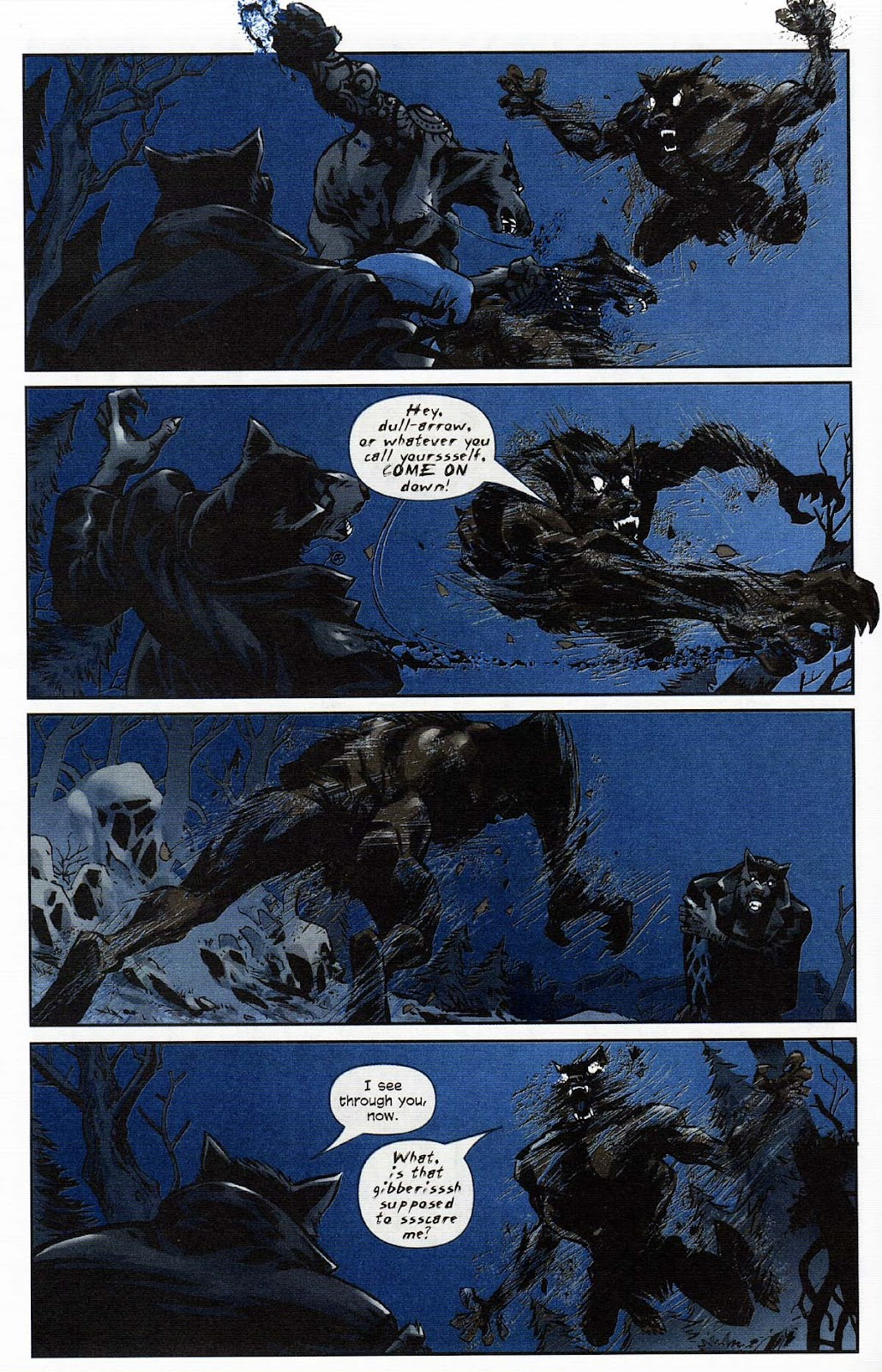 Read online Werewolf the Apocalypse comic -  Issue # Get of Fenris - 16