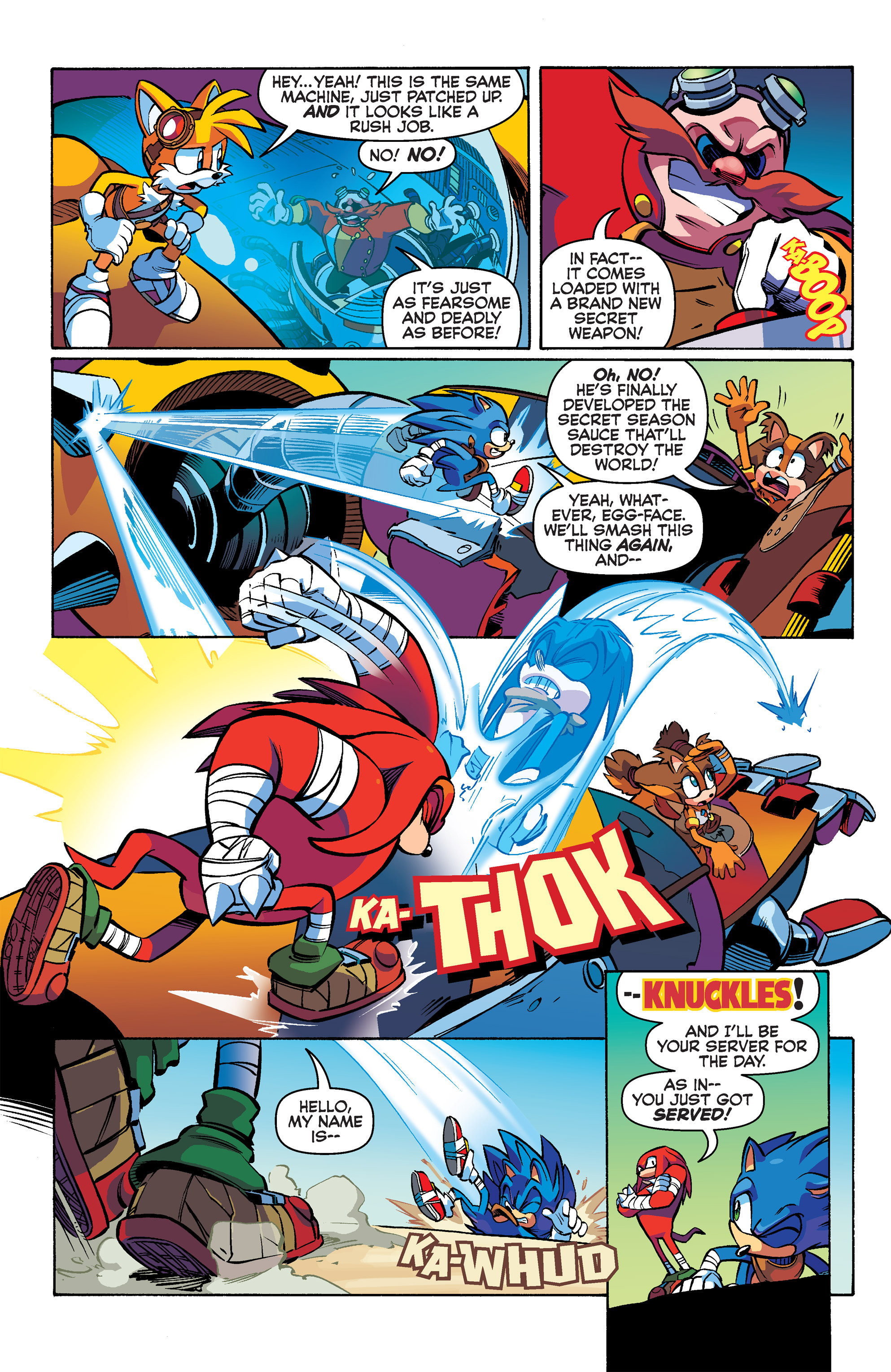 Read online Sonic Boom comic -  Issue #2 - 5