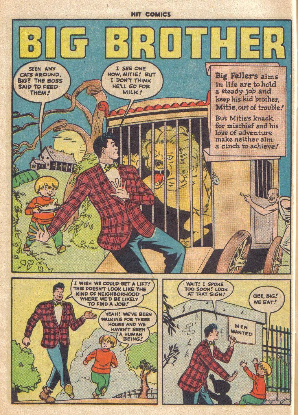 Read online Hit Comics comic -  Issue #46 - 50