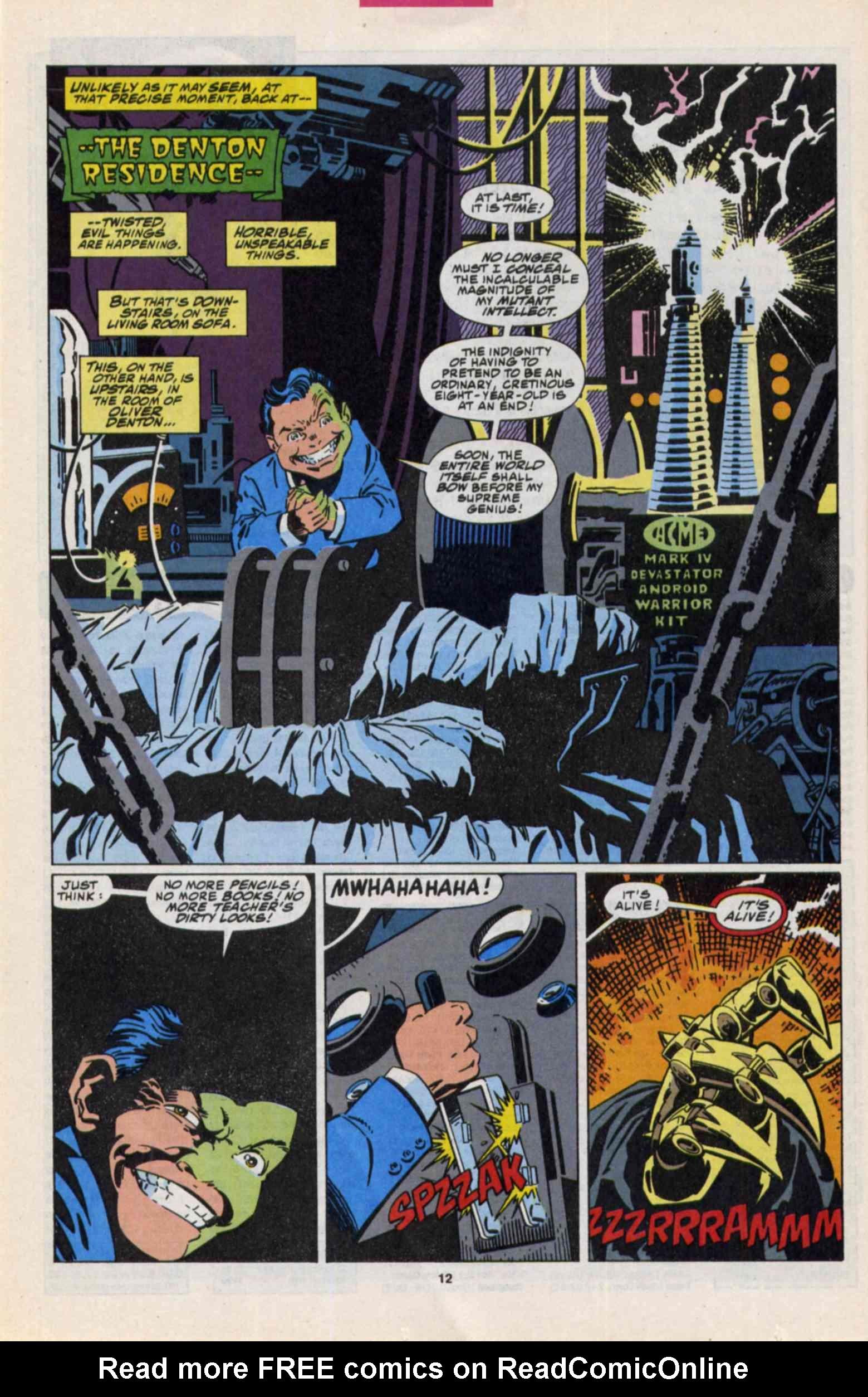 Read online Slapstick comic -  Issue #3 - 9