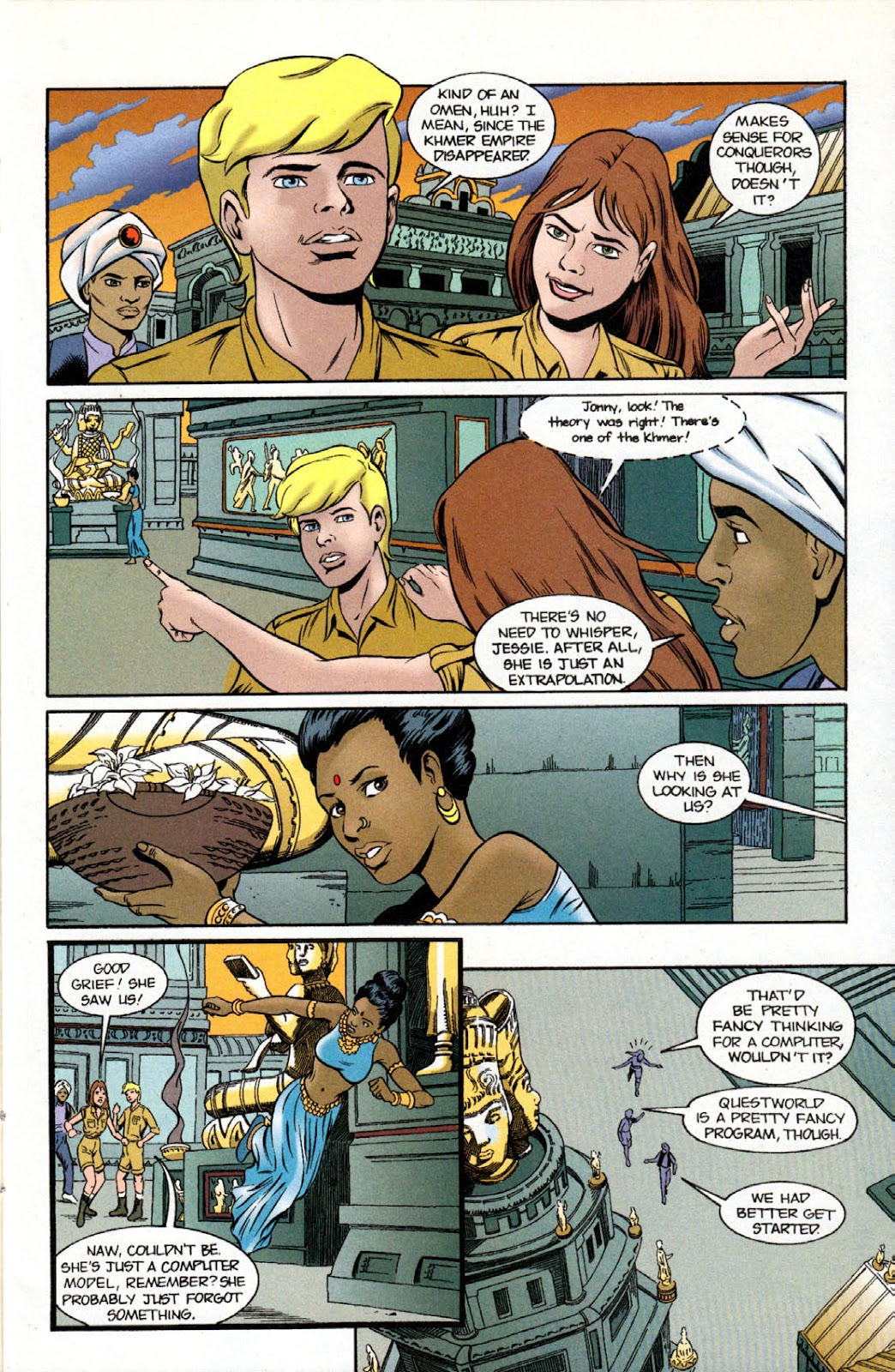 Read online The Real Adventures of Jonny Quest comic -  Issue #11 - 13