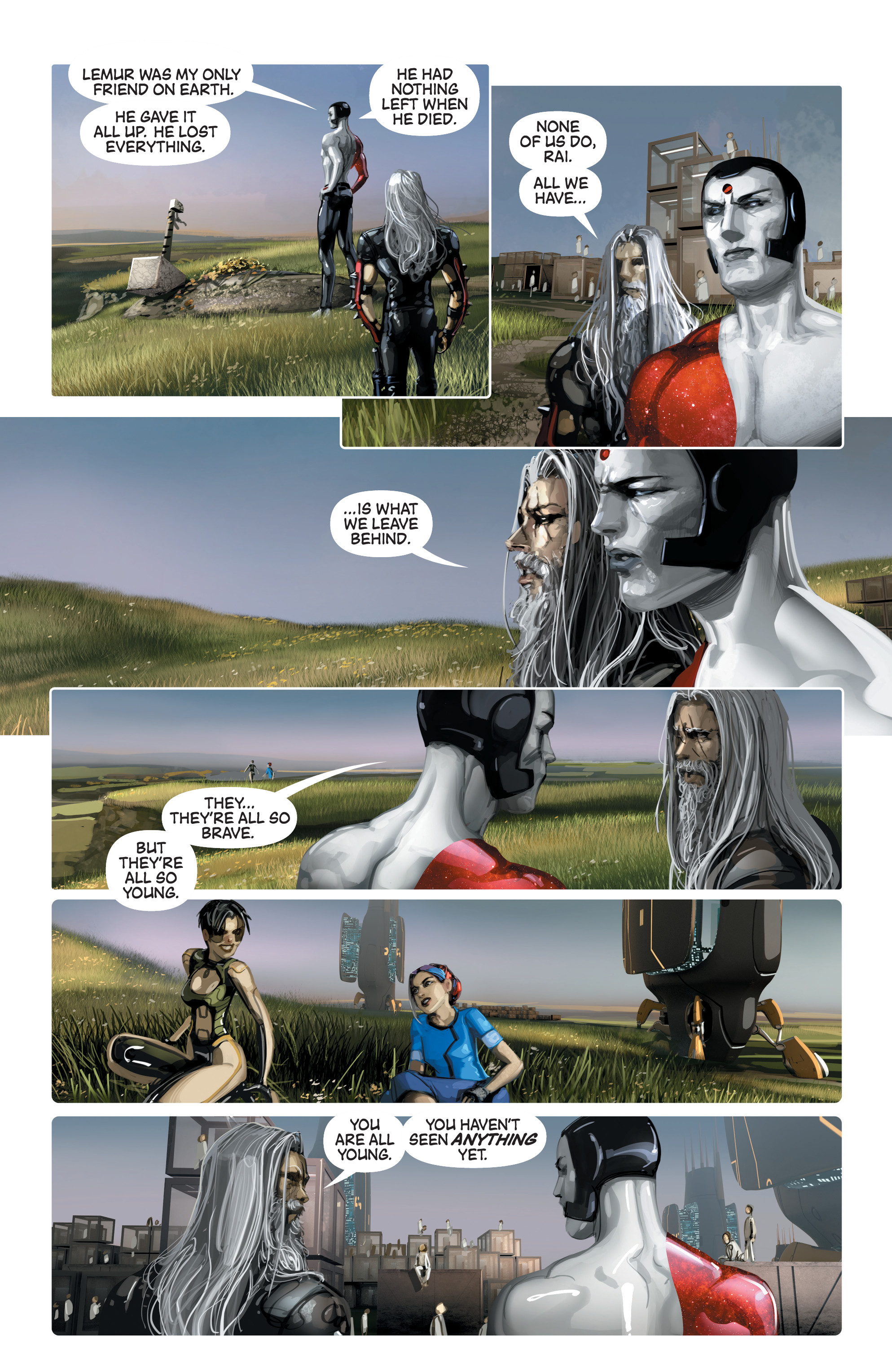 Read online 4001 A.D. comic -  Issue #4 - 16