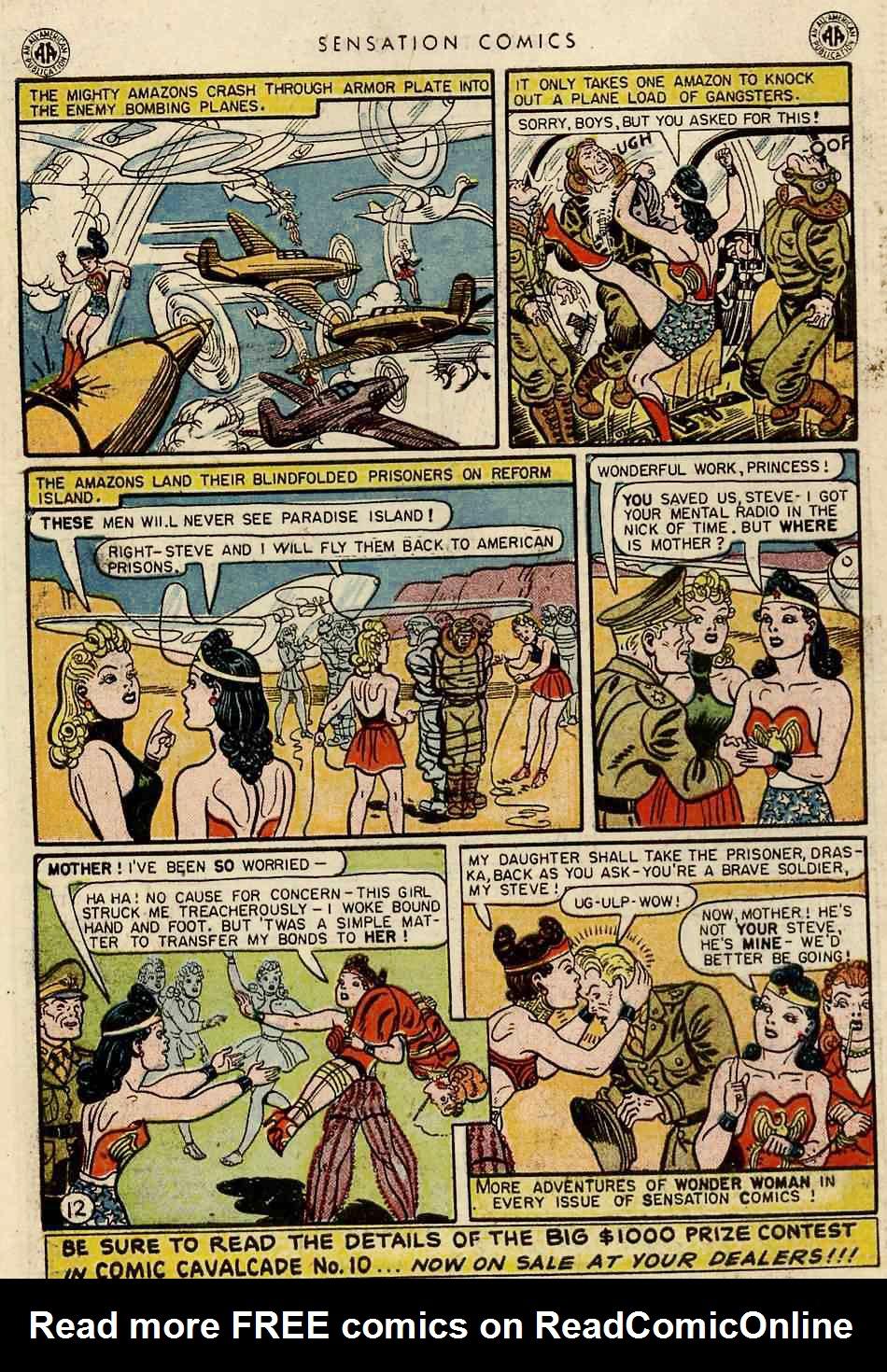 Read online Sensation (Mystery) Comics comic -  Issue #42 - 14