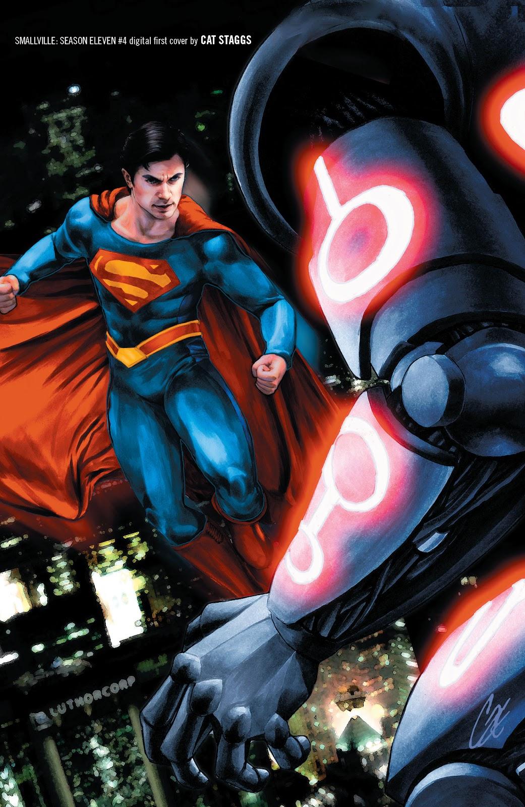 Read online Smallville Season 11 [II] comic -  Issue # TPB 1 - 136