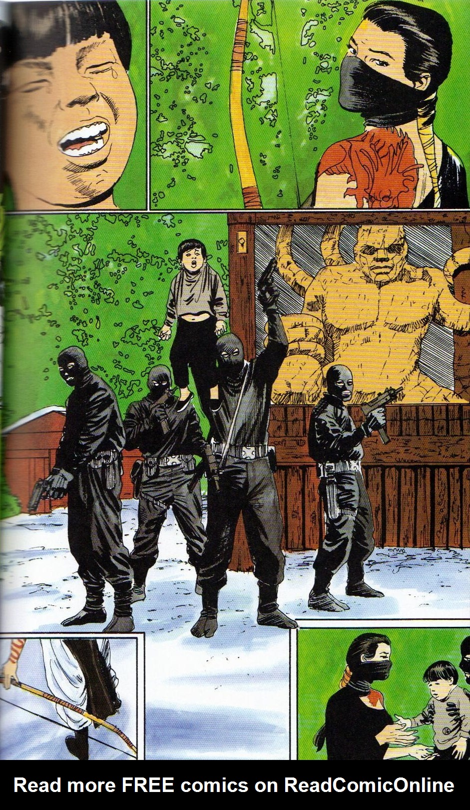 Read online Shado: Song of the Dragon comic -  Issue #3 - 19