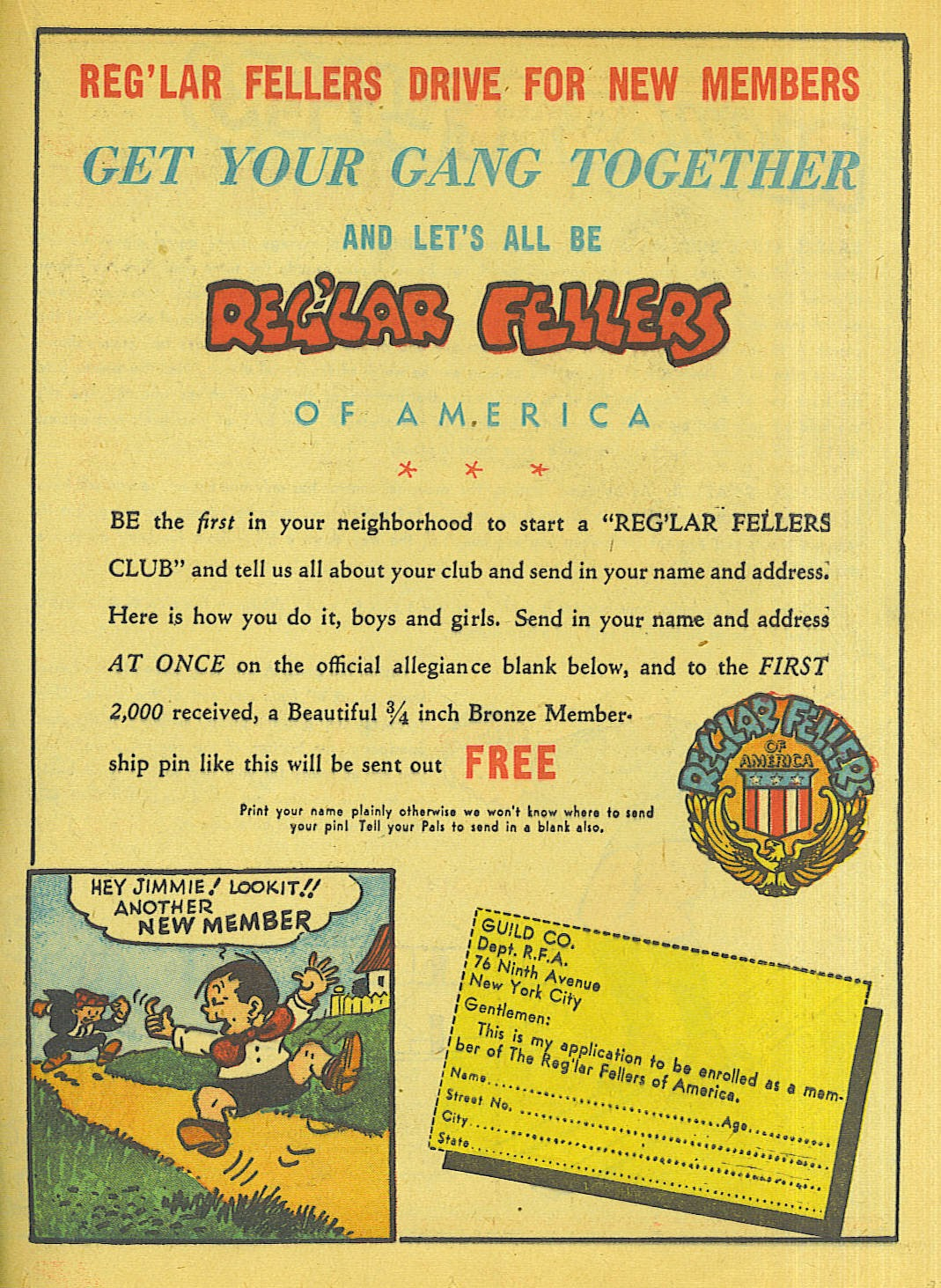 Reglar Fellers Heroic Comics issue 5 - Page 32