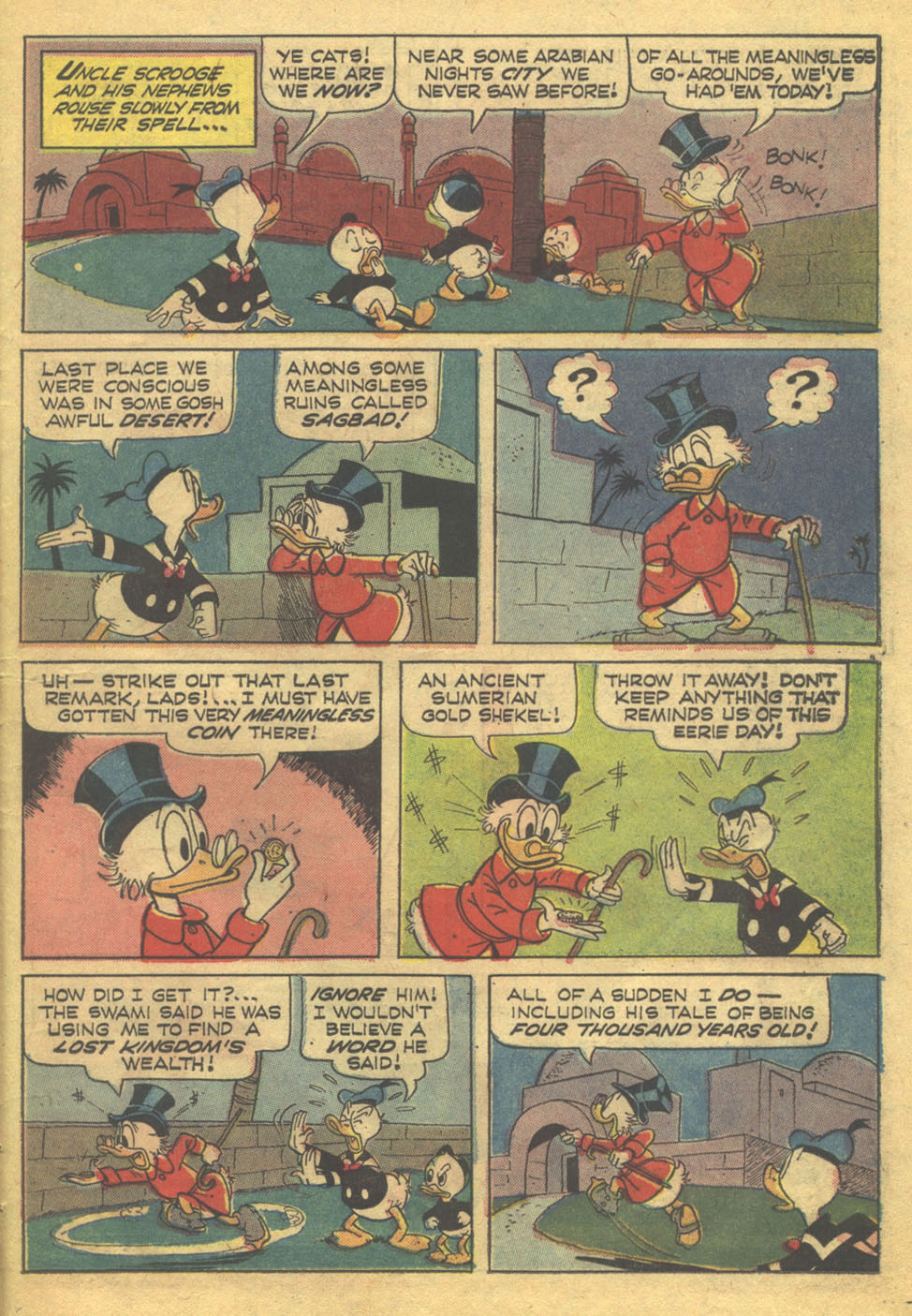 Read online Uncle Scrooge (1953) comic -  Issue #71 - 22