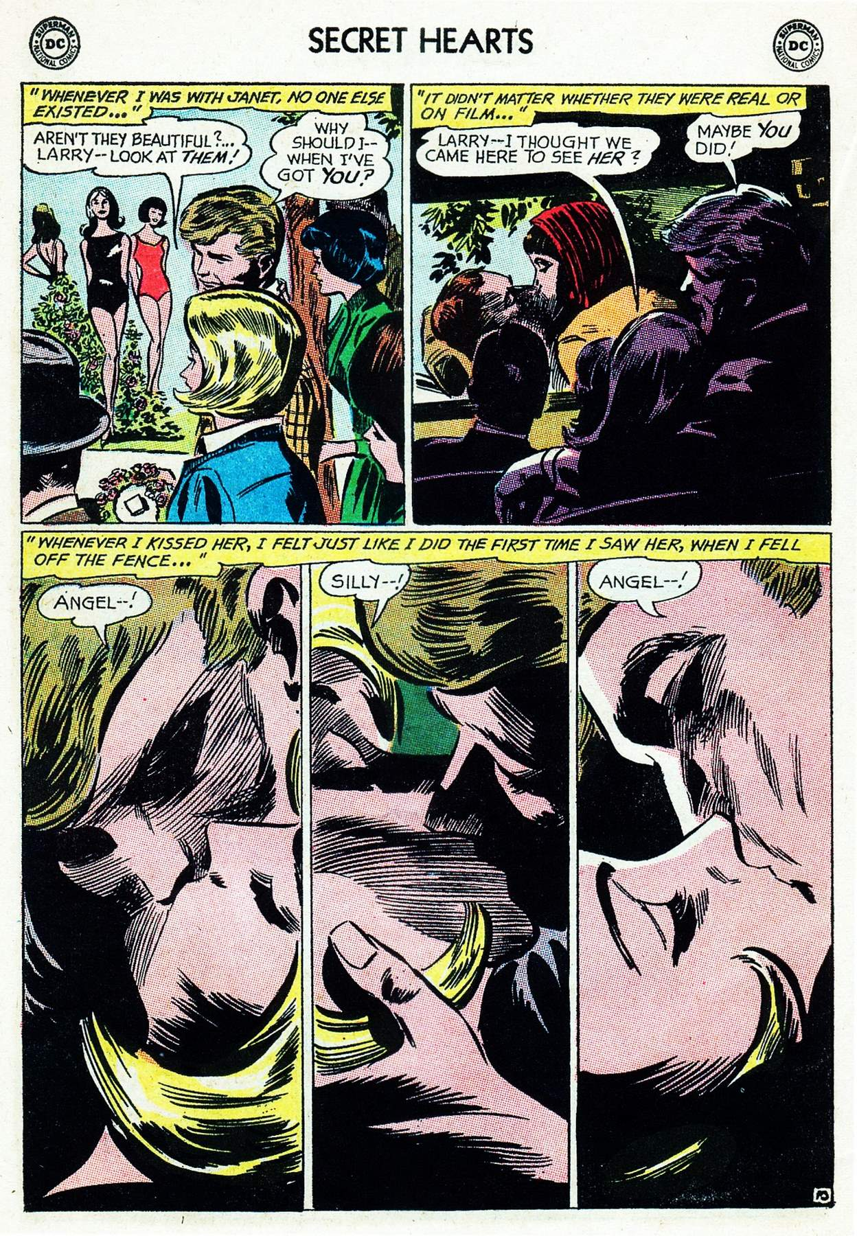 Read online Secret Hearts comic -  Issue #105 - 30