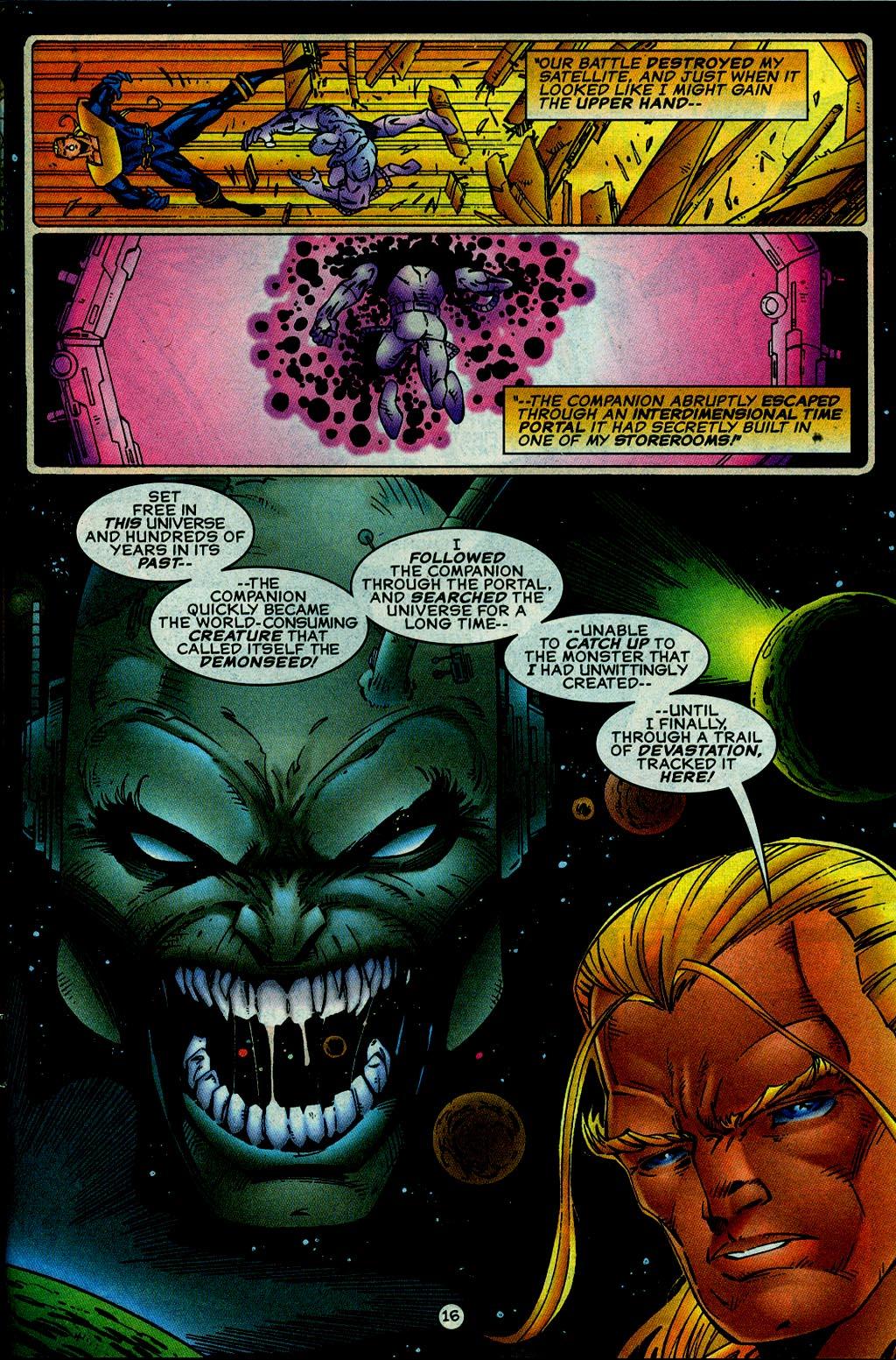 Read online UltraForce (1995) comic -  Issue #14 - 16