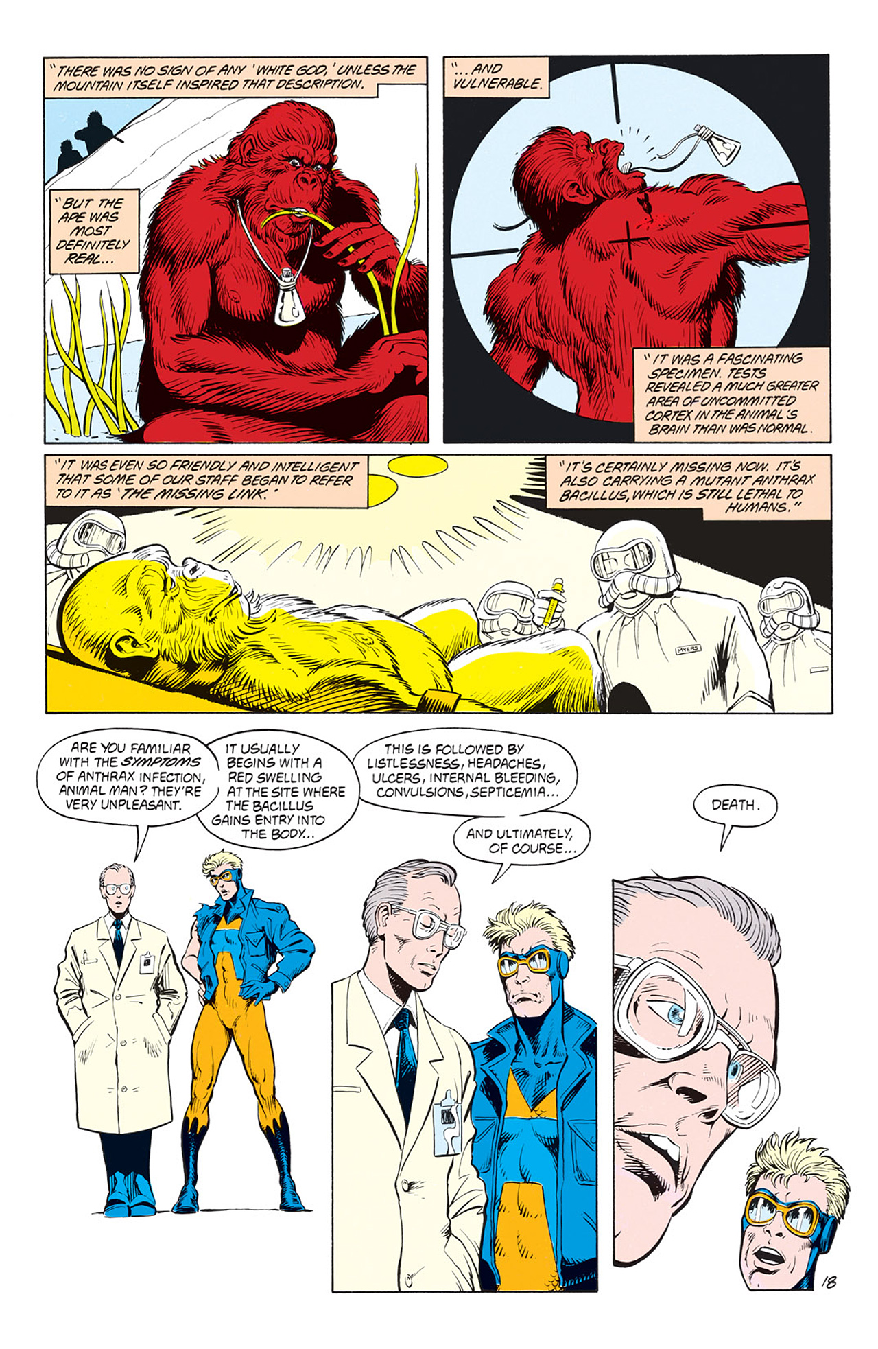 Read online Animal Man (1988) comic -  Issue #3 - 20