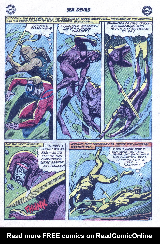 Read online Sea Devils comic -  Issue #6 - 6