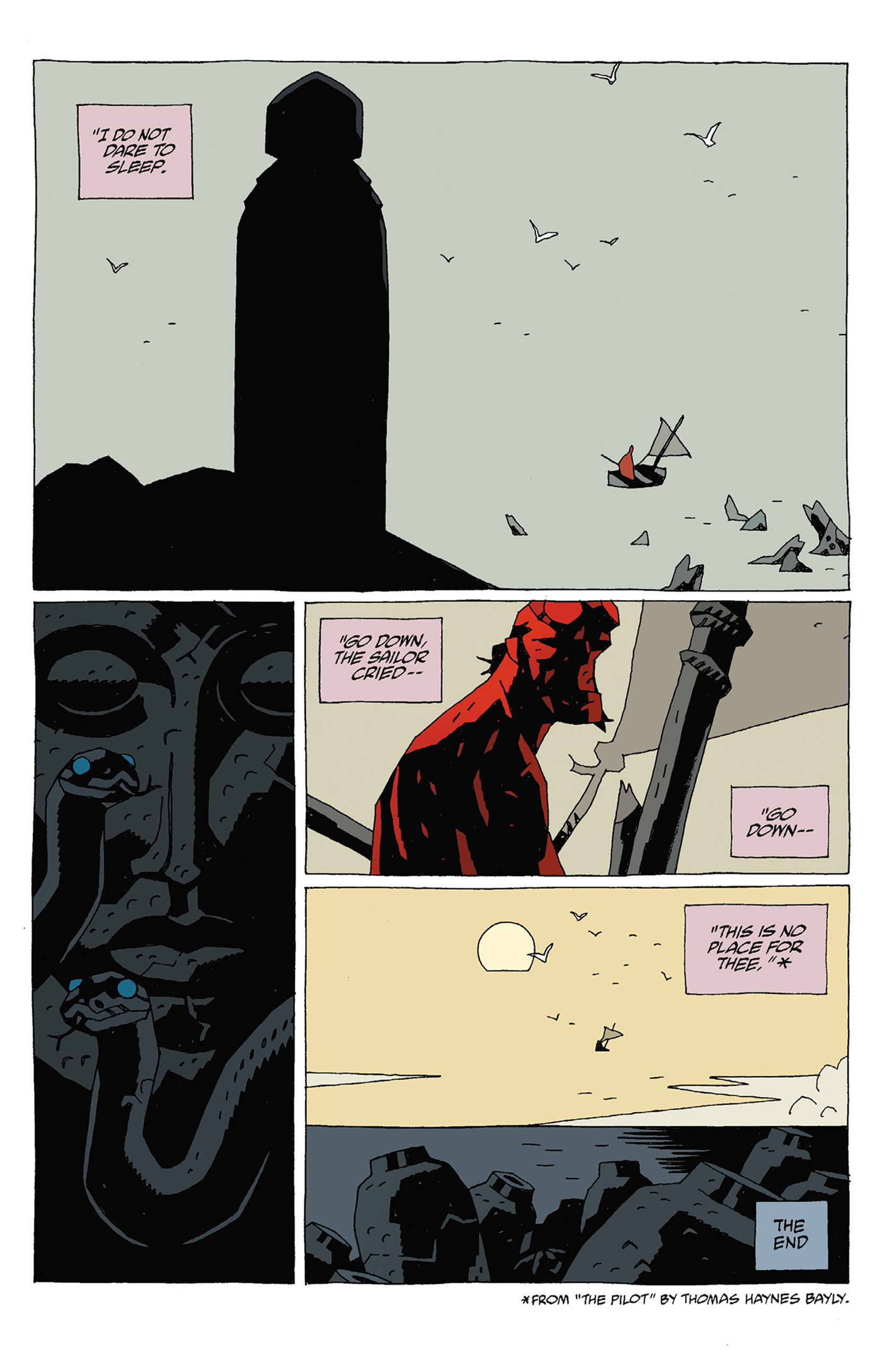 Read online Hellboy: Strange Places comic -  Issue # TPB - 125