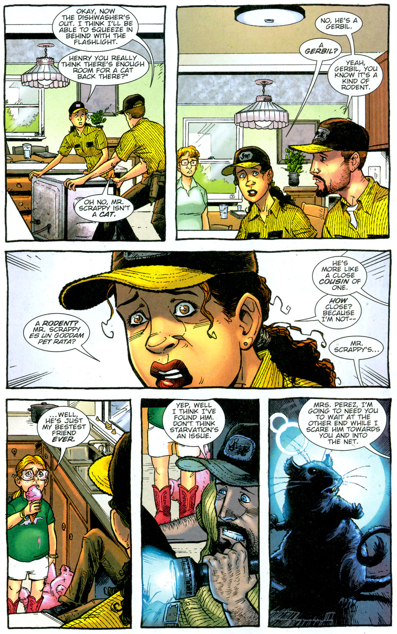 Read online The Exterminators comic -  Issue #14 - 16