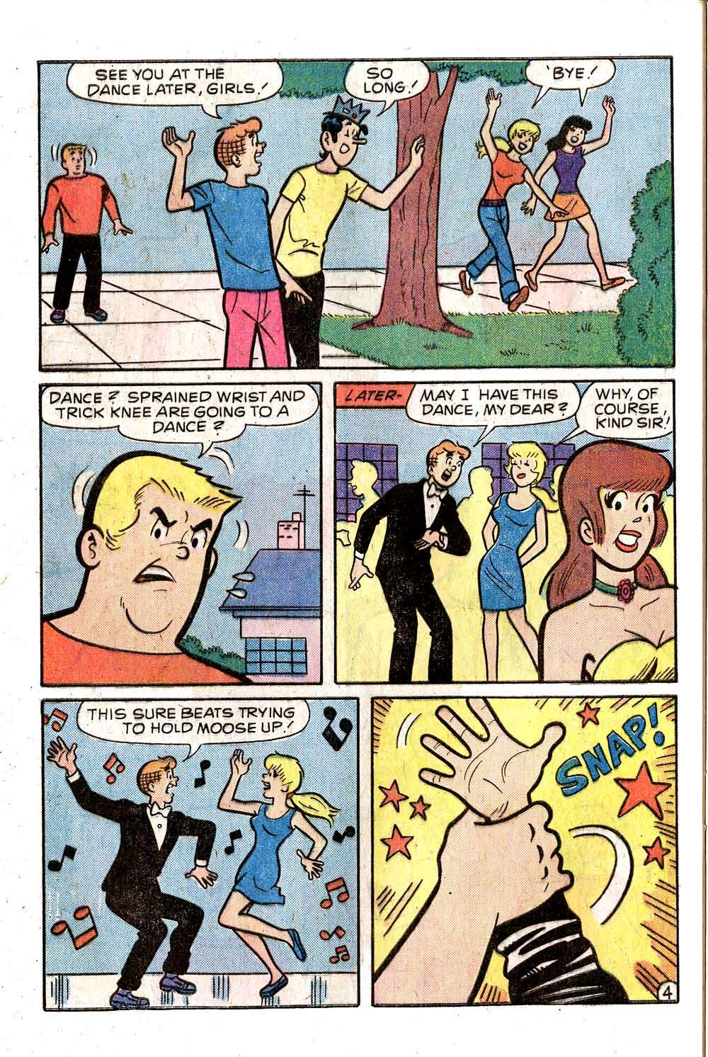 Read online Archie (1960) comic -  Issue #258 - 32