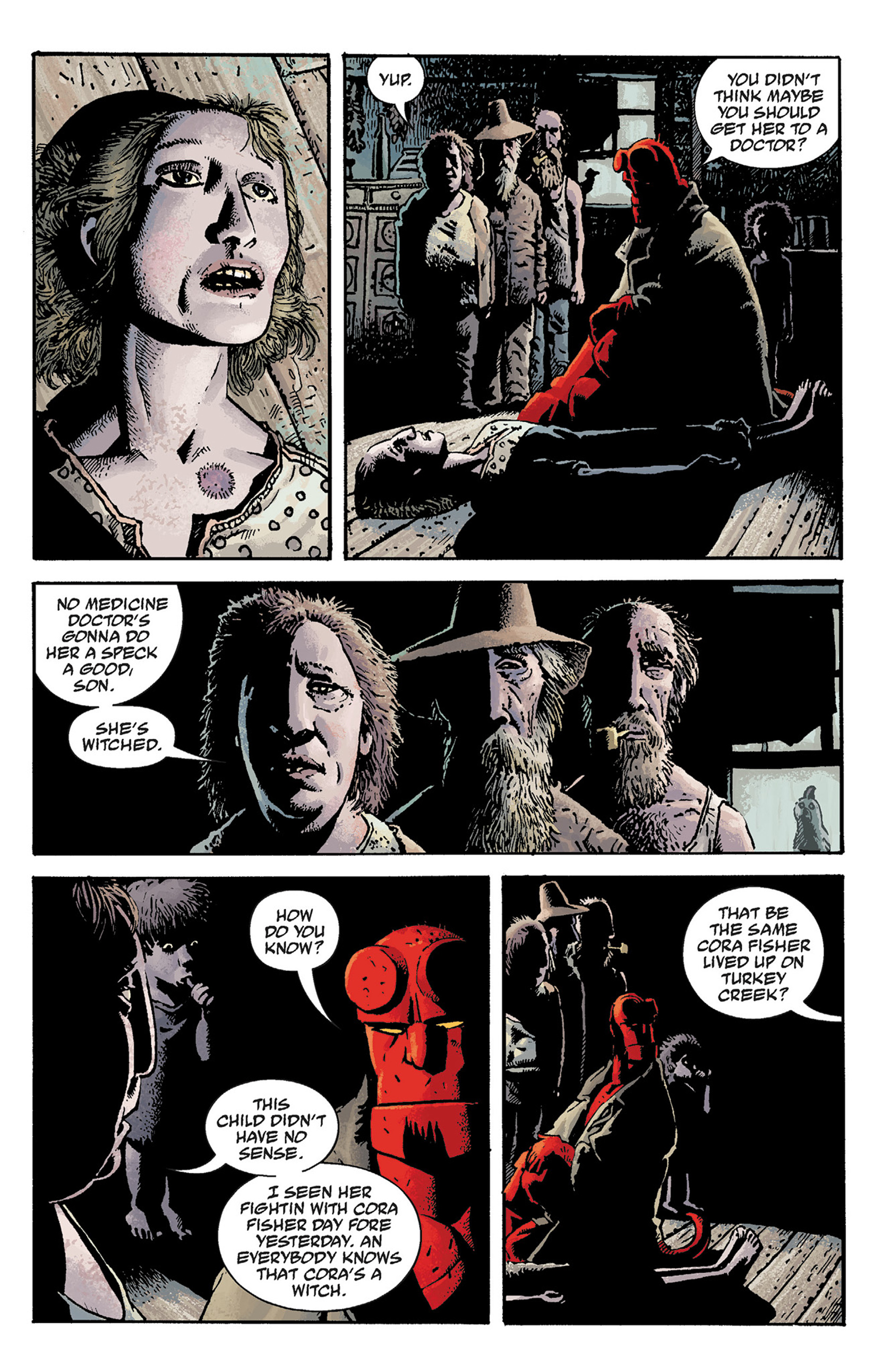 Read online Hellboy: The Crooked Man and Others comic -  Issue # TPB - 11