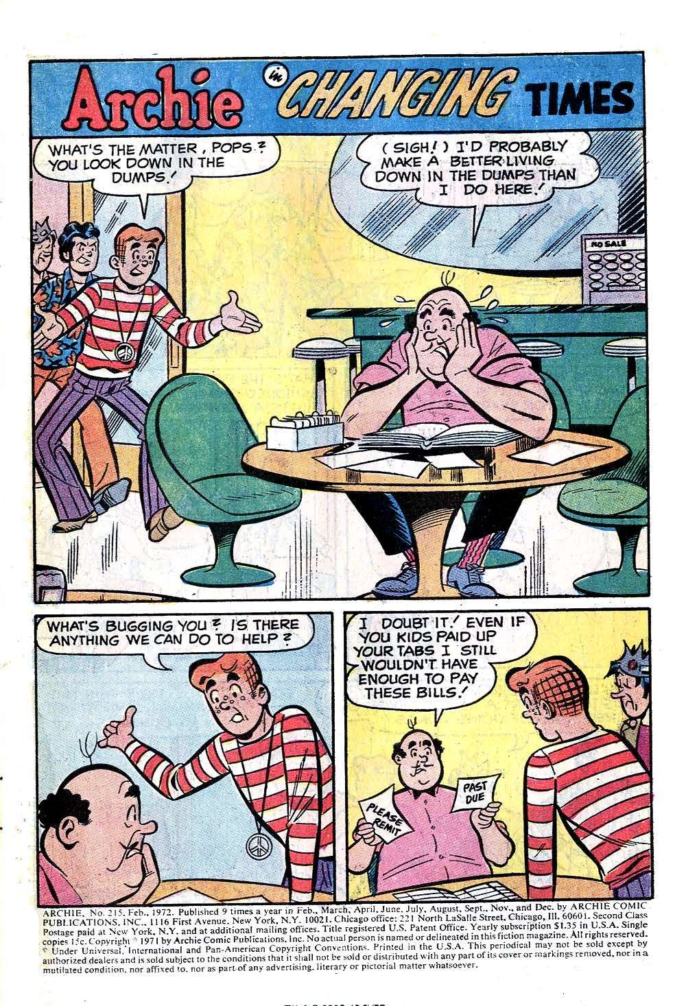 Read online Archie (1960) comic -  Issue #215 - 3