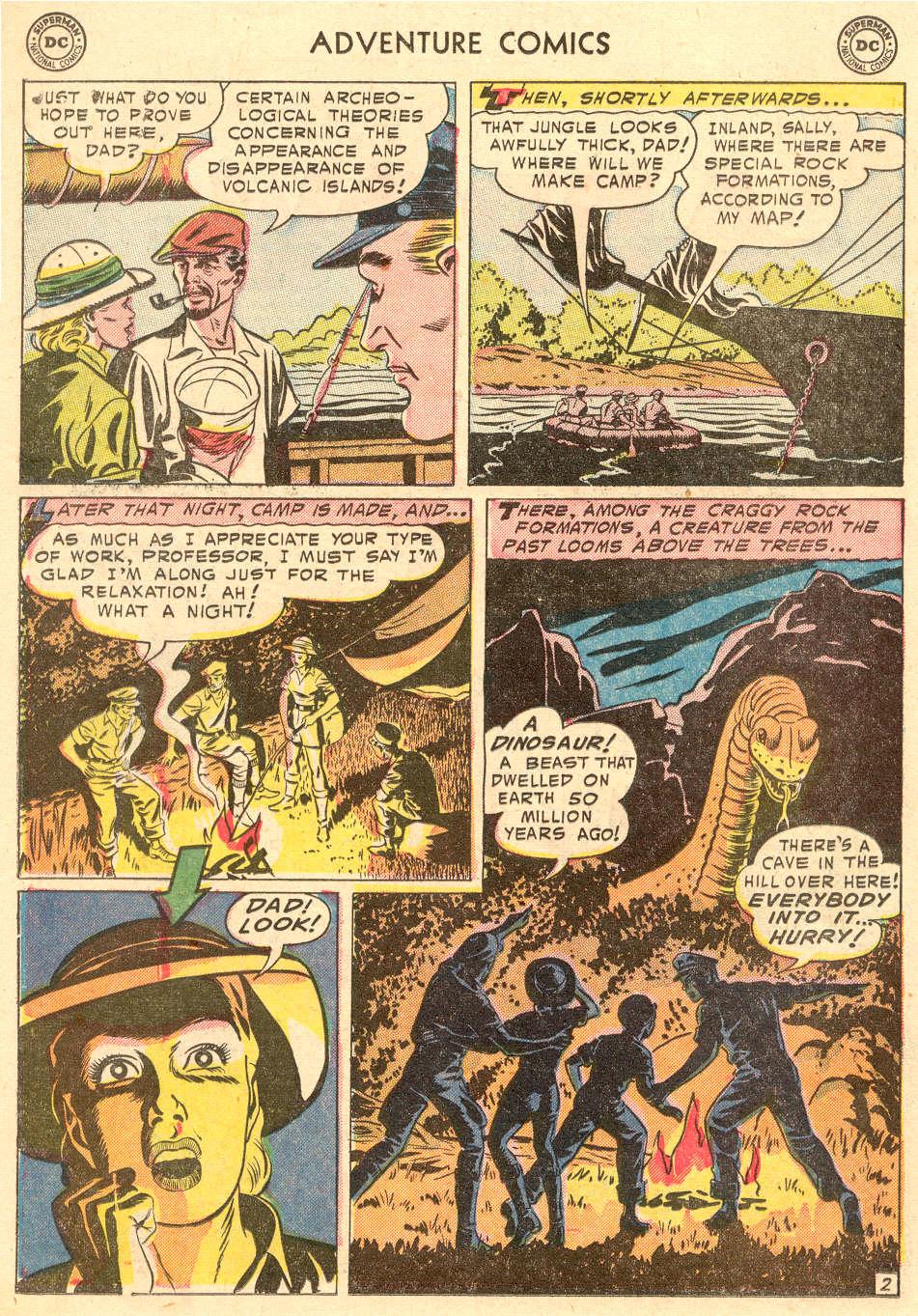 Read online Adventure Comics (1938) comic -  Issue #208 - 26