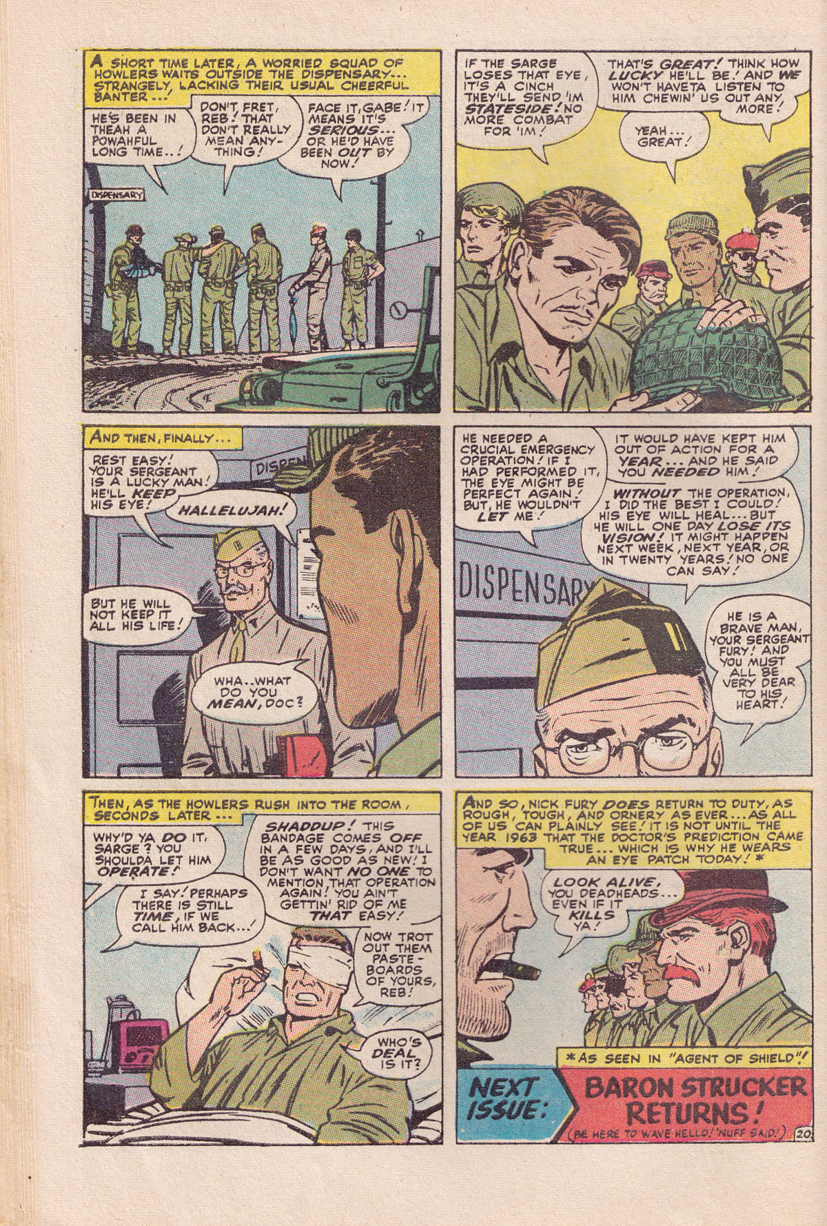 Read online Sgt. Fury comic -  Issue #89 - 30