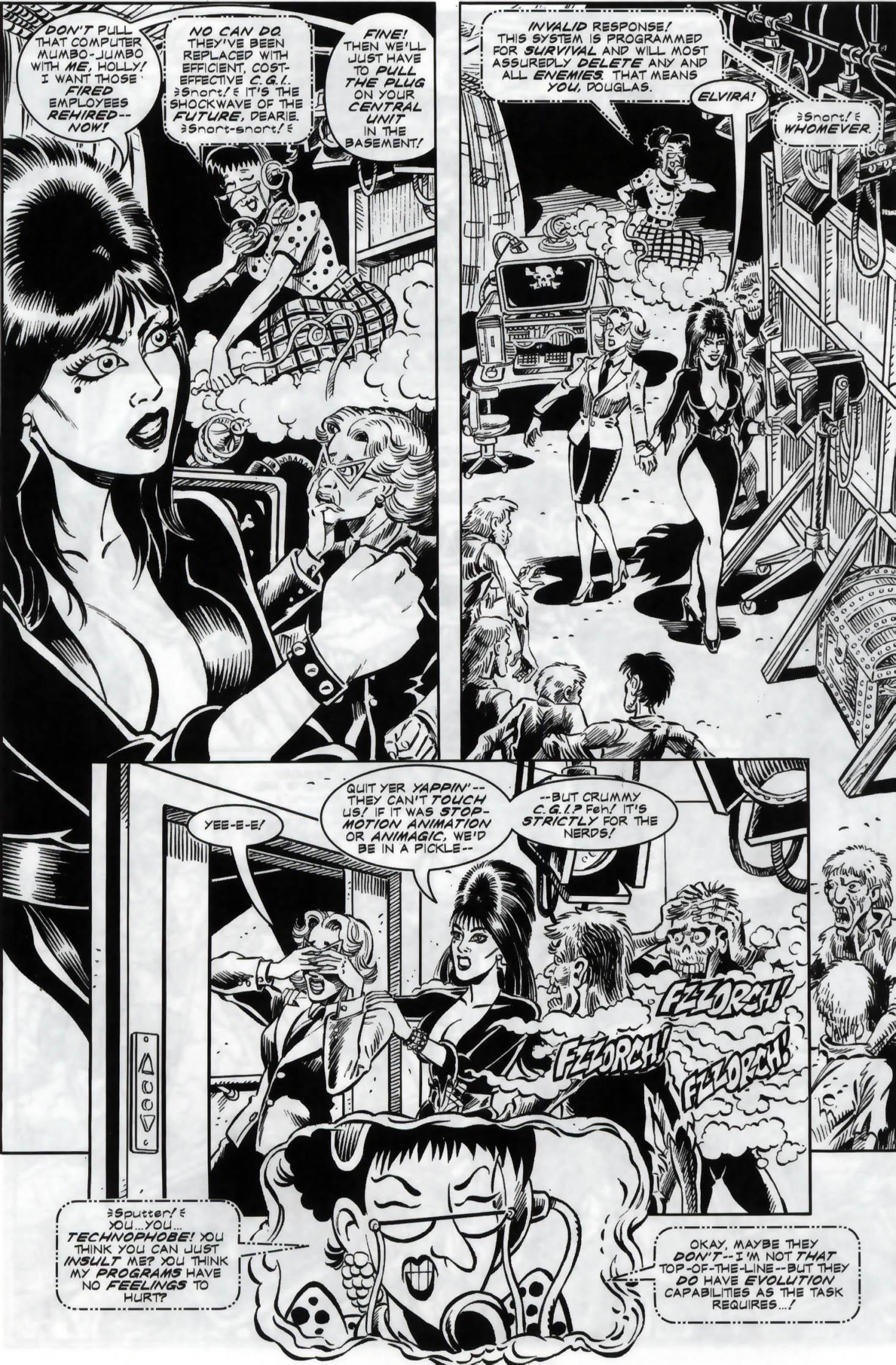Read online Elvira, Mistress of the Dark comic -  Issue #119 - 12
