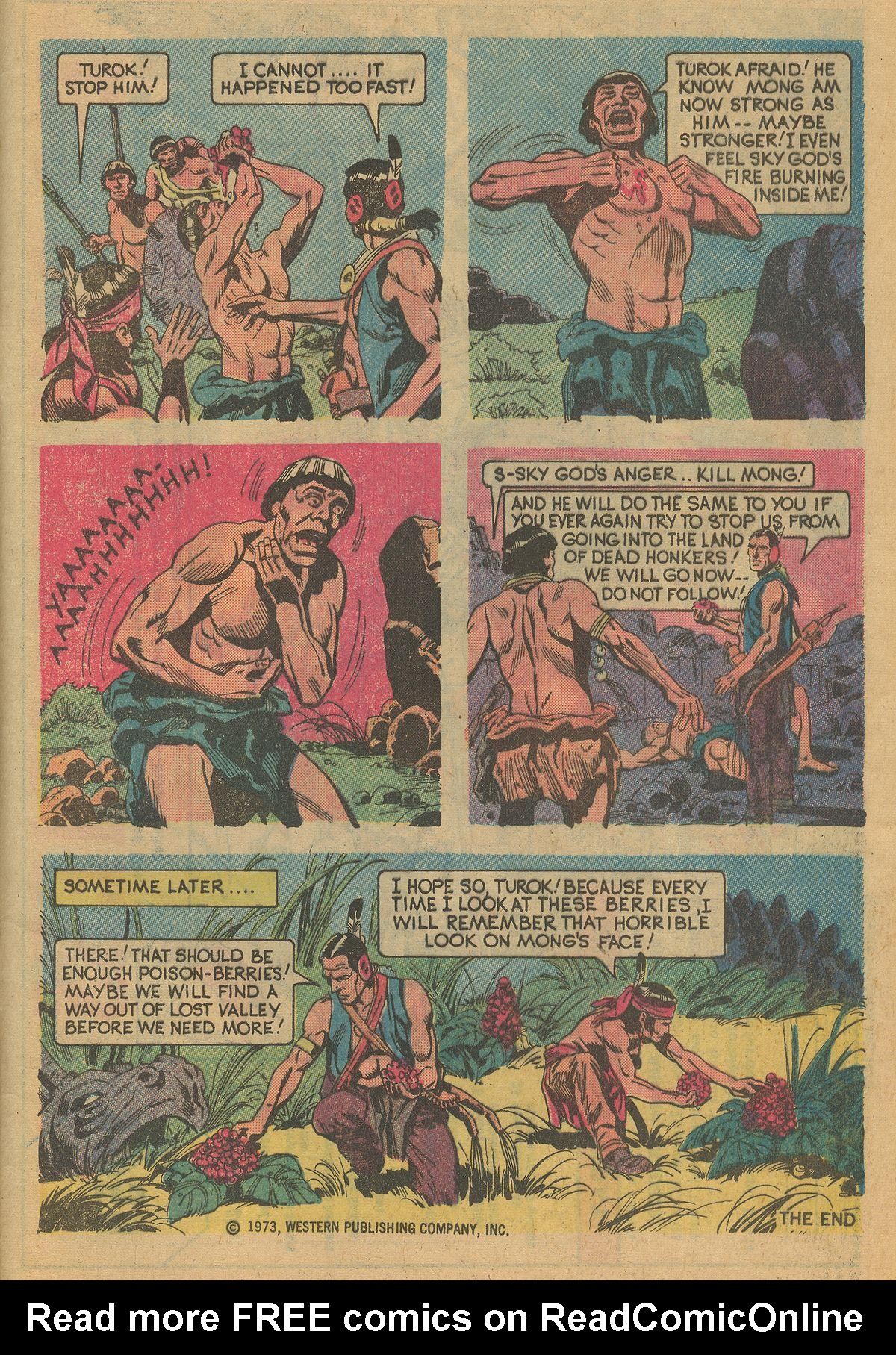 Read online Turok, Son of Stone comic -  Issue #125 - 33