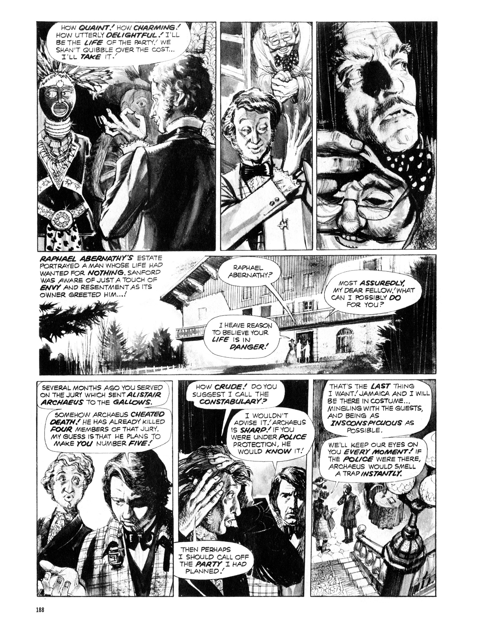 Read online Eerie Archives comic -  Issue # TPB 12 - 189