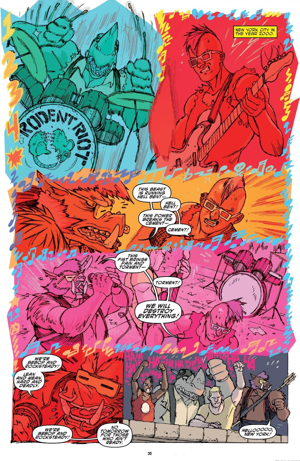 Read online Teenage Mutant Ninja Turtles: The IDW Collection comic -  Issue # TPB 8 (Part 1) - 30