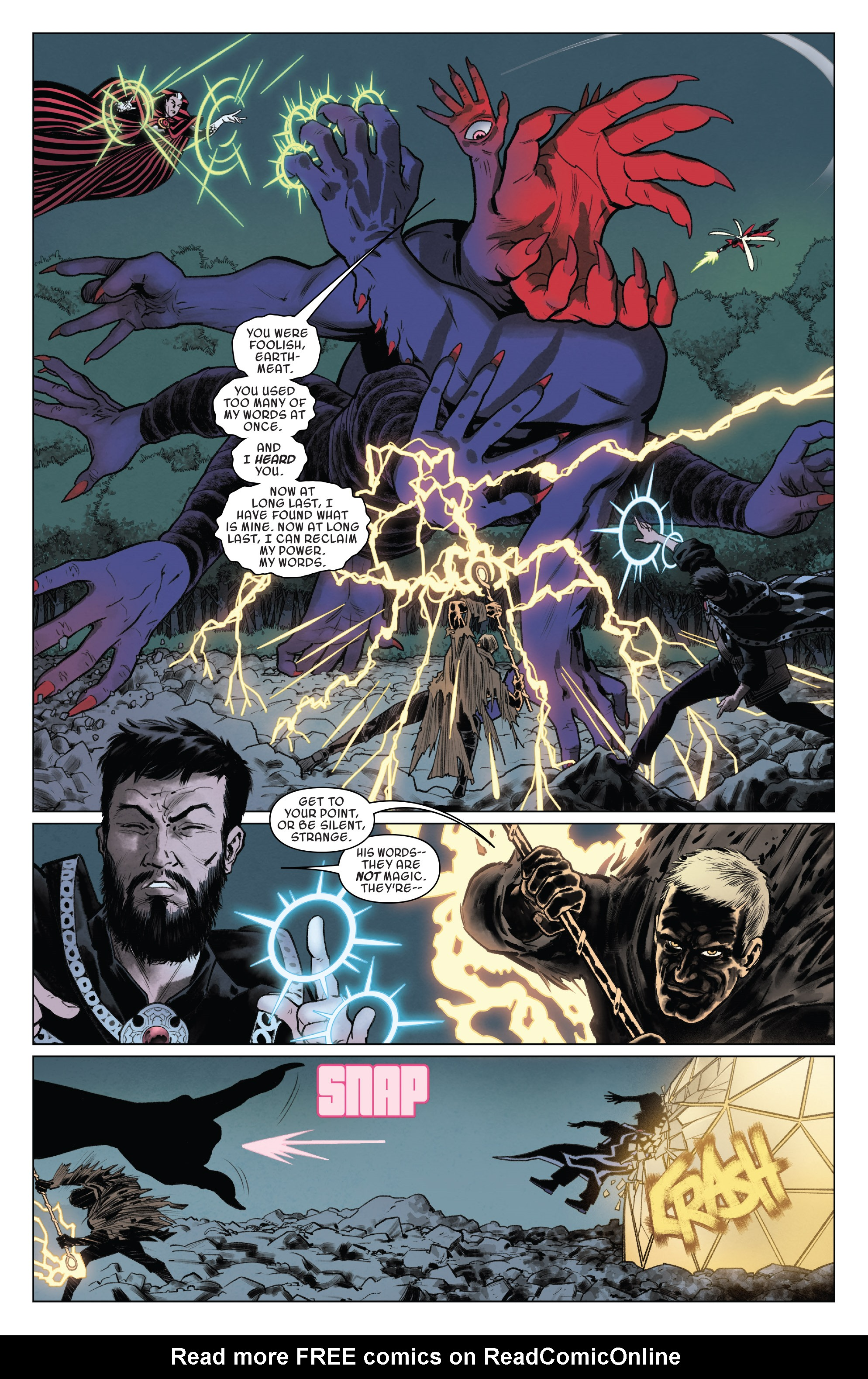 Read online Doctor Strange and the Sorcerers Supreme comic -  Issue #8 - 9