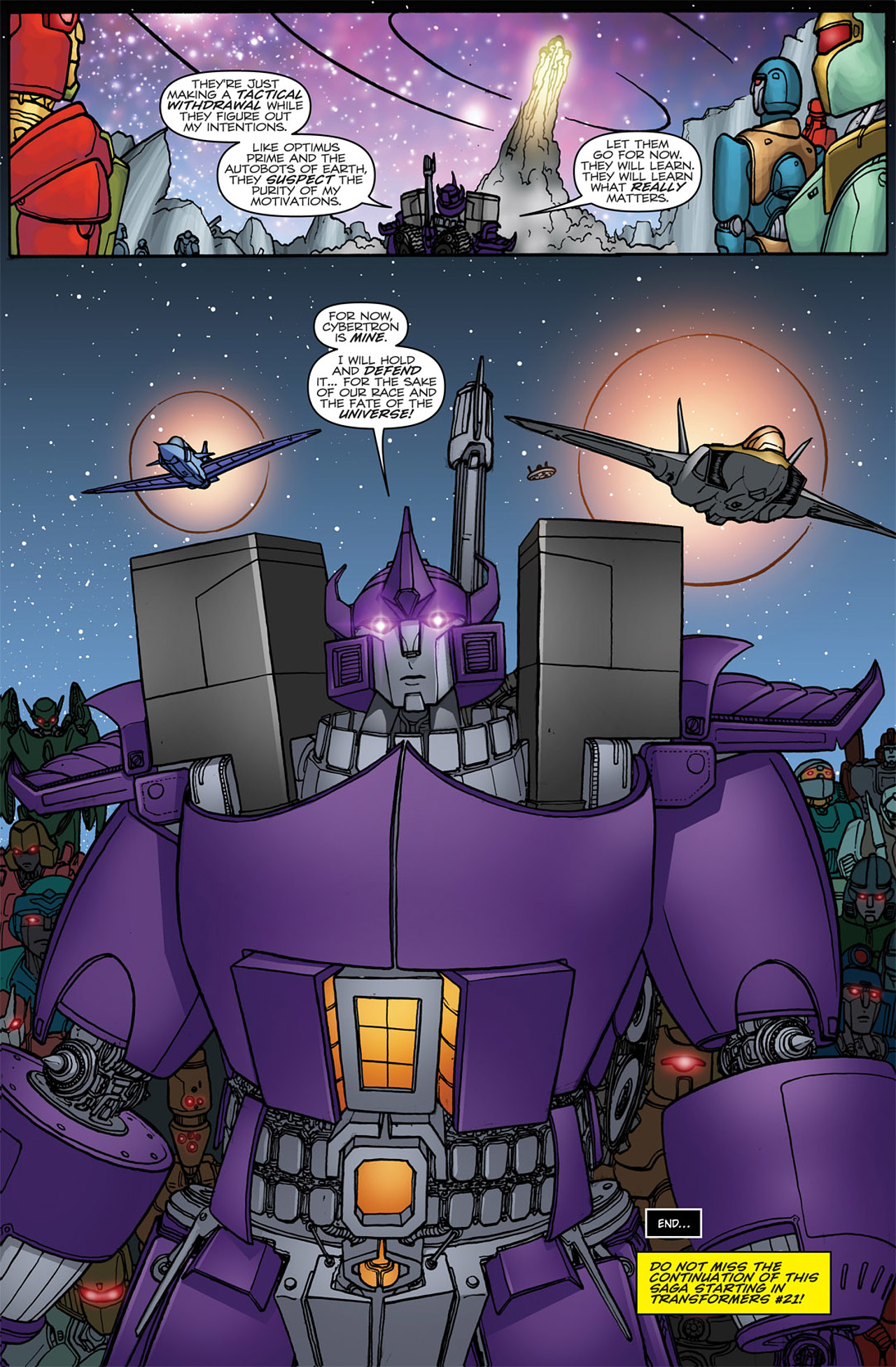 Read online Transformers: Heart of Darkness comic -  Issue #4 - 26