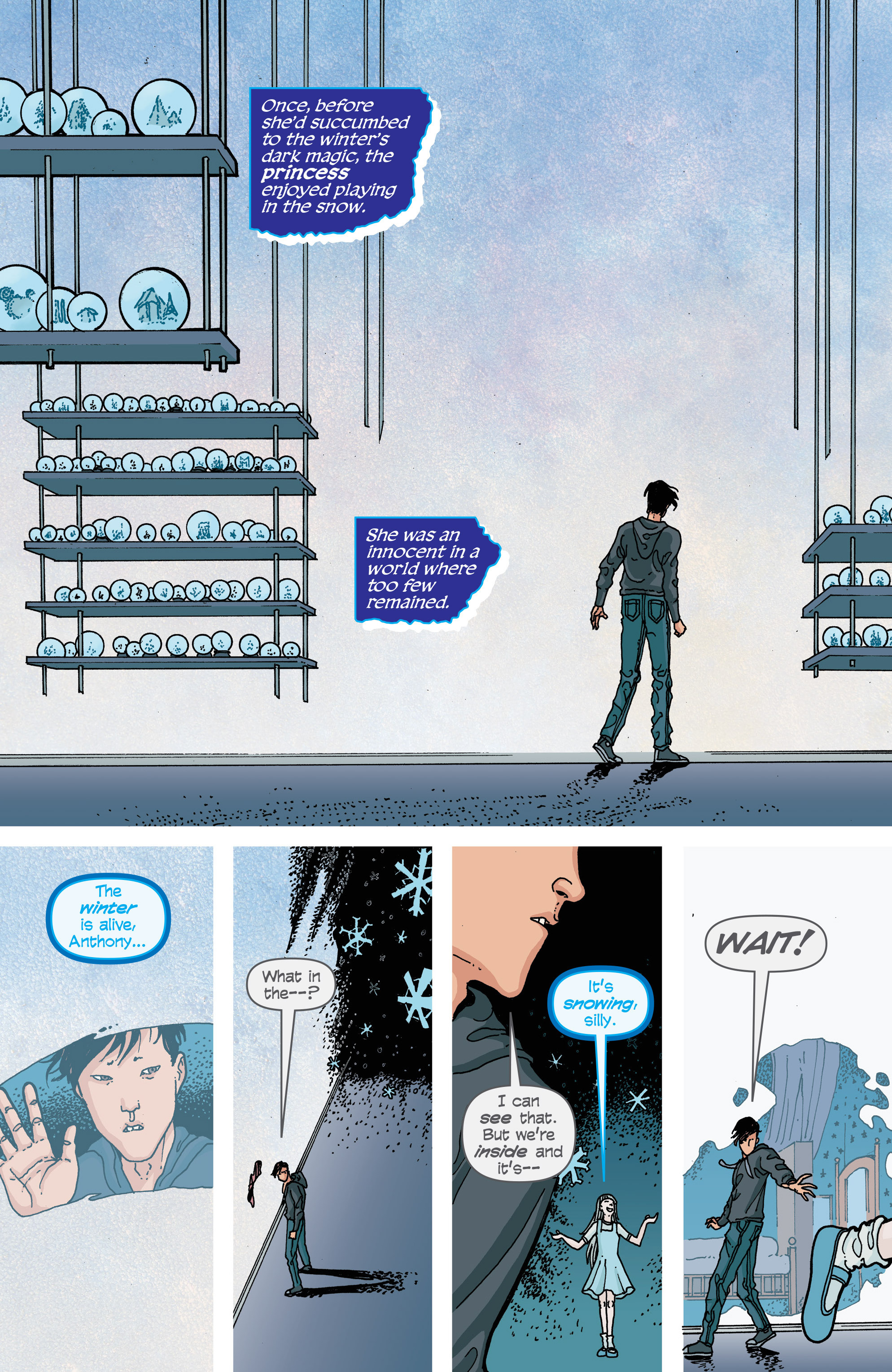Read online Snowfall comic -  Issue #2 - 21