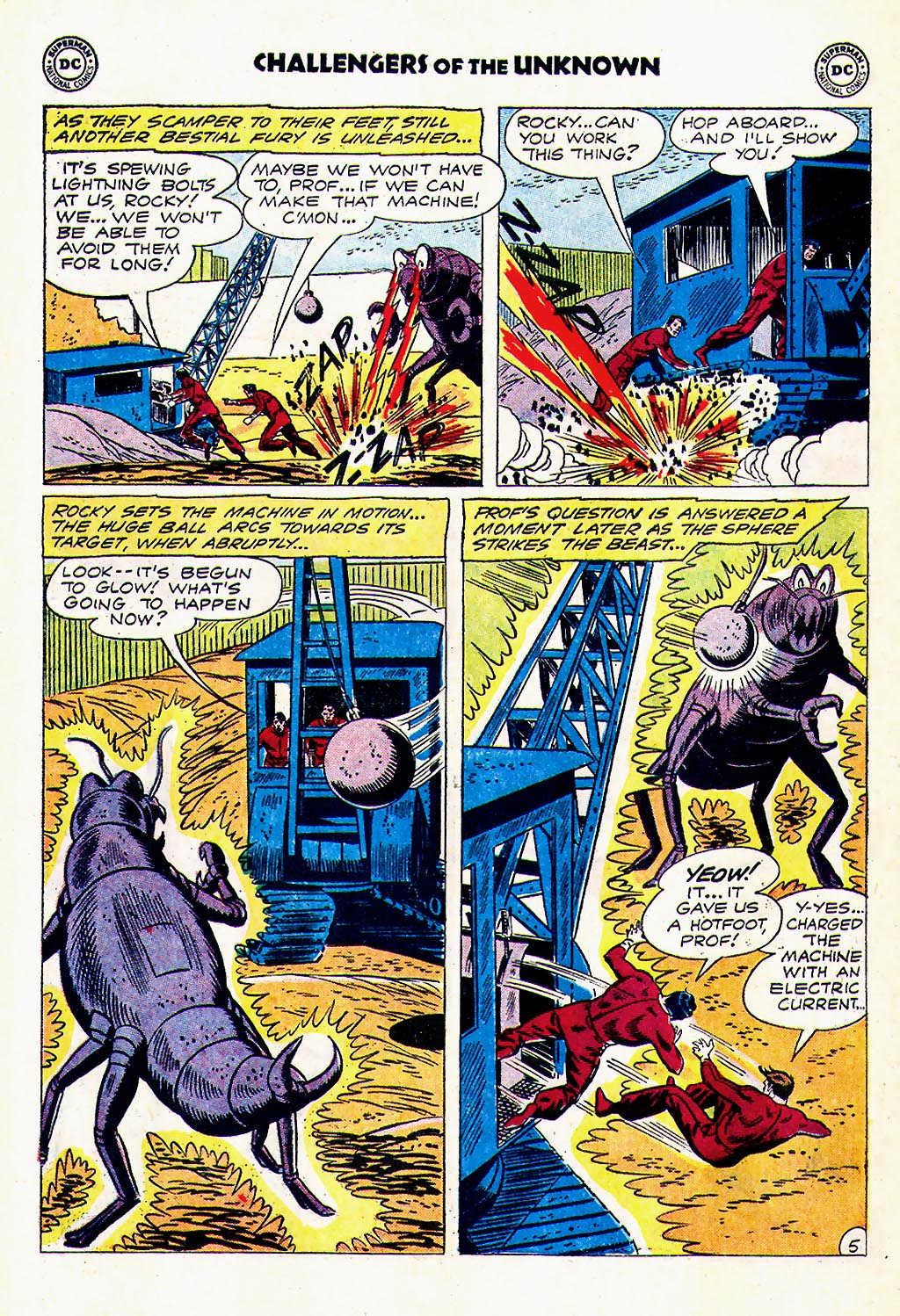 Challengers of the Unknown (1958) issue 23 - Page 22