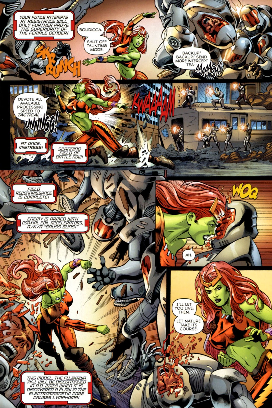 Savage She-Hulk Issue #1 #1 - English 9