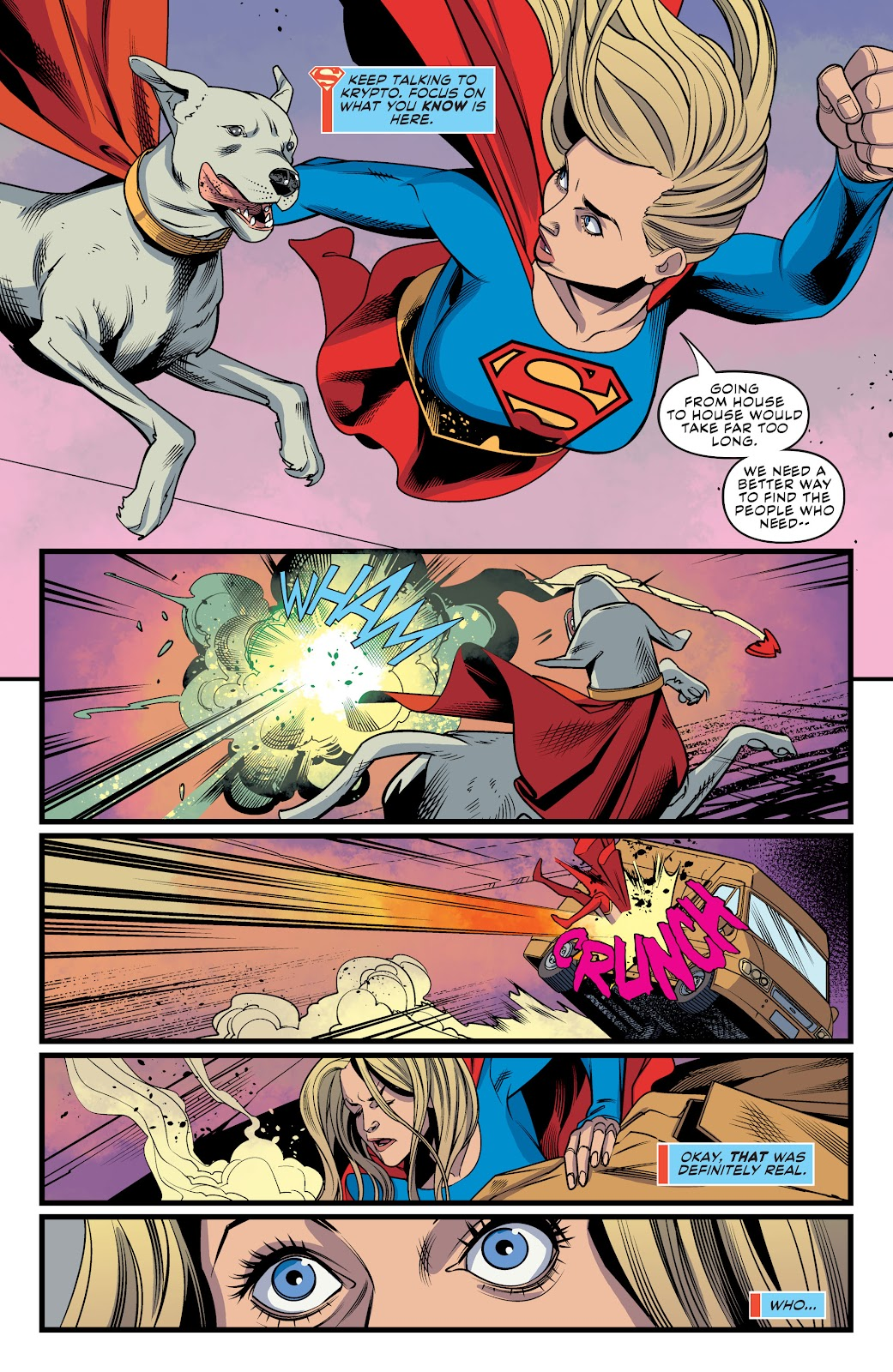 Read online Supergirl (2016) comic -  Issue #41 - 20