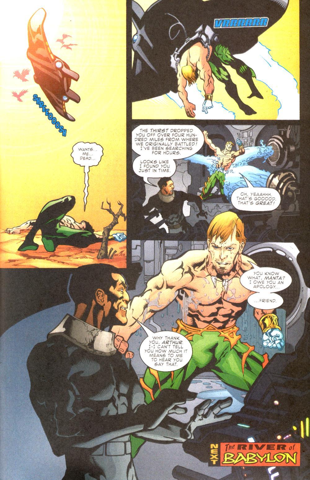 Read online Aquaman (2003) comic -  Issue #10 - 24