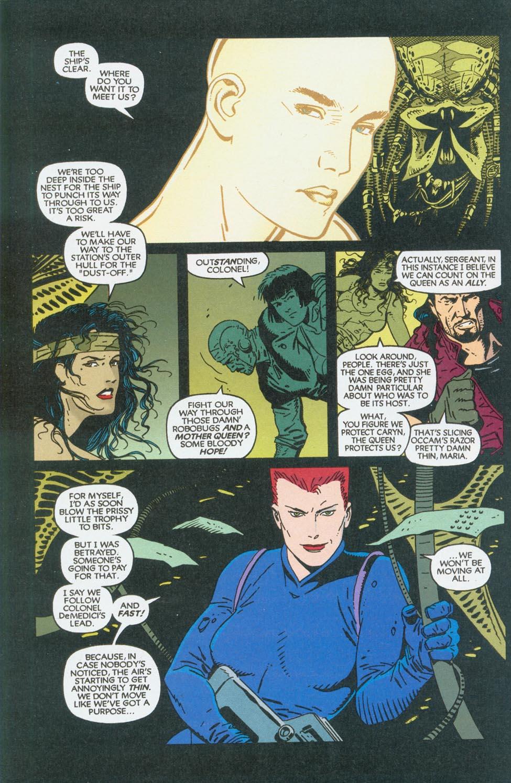 Read online Aliens/Predator: The Deadliest of the Species comic -  Issue #9 - 14