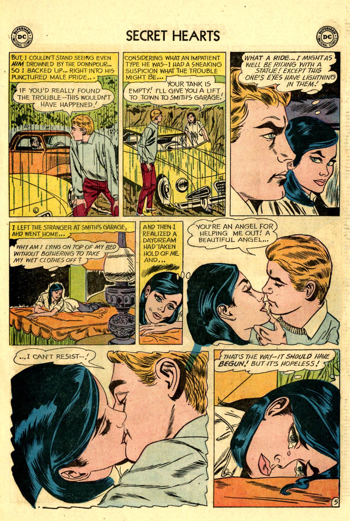 Read online Secret Hearts comic -  Issue #83 - 7