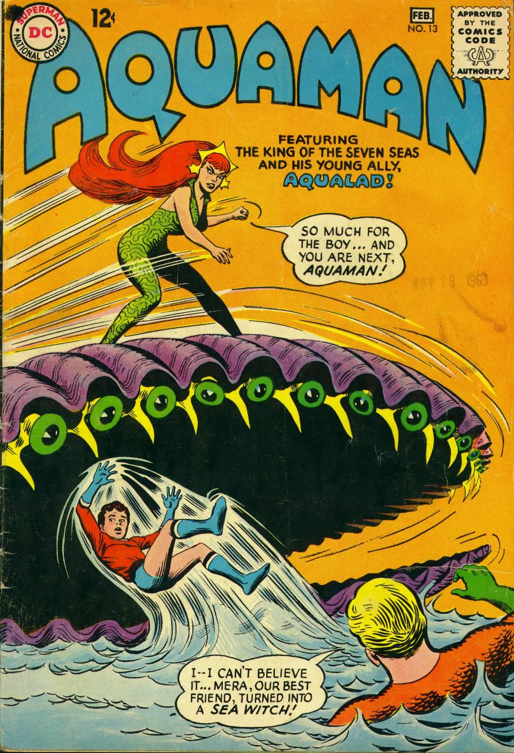 Read online Aquaman (1962) comic -  Issue #13 - 1