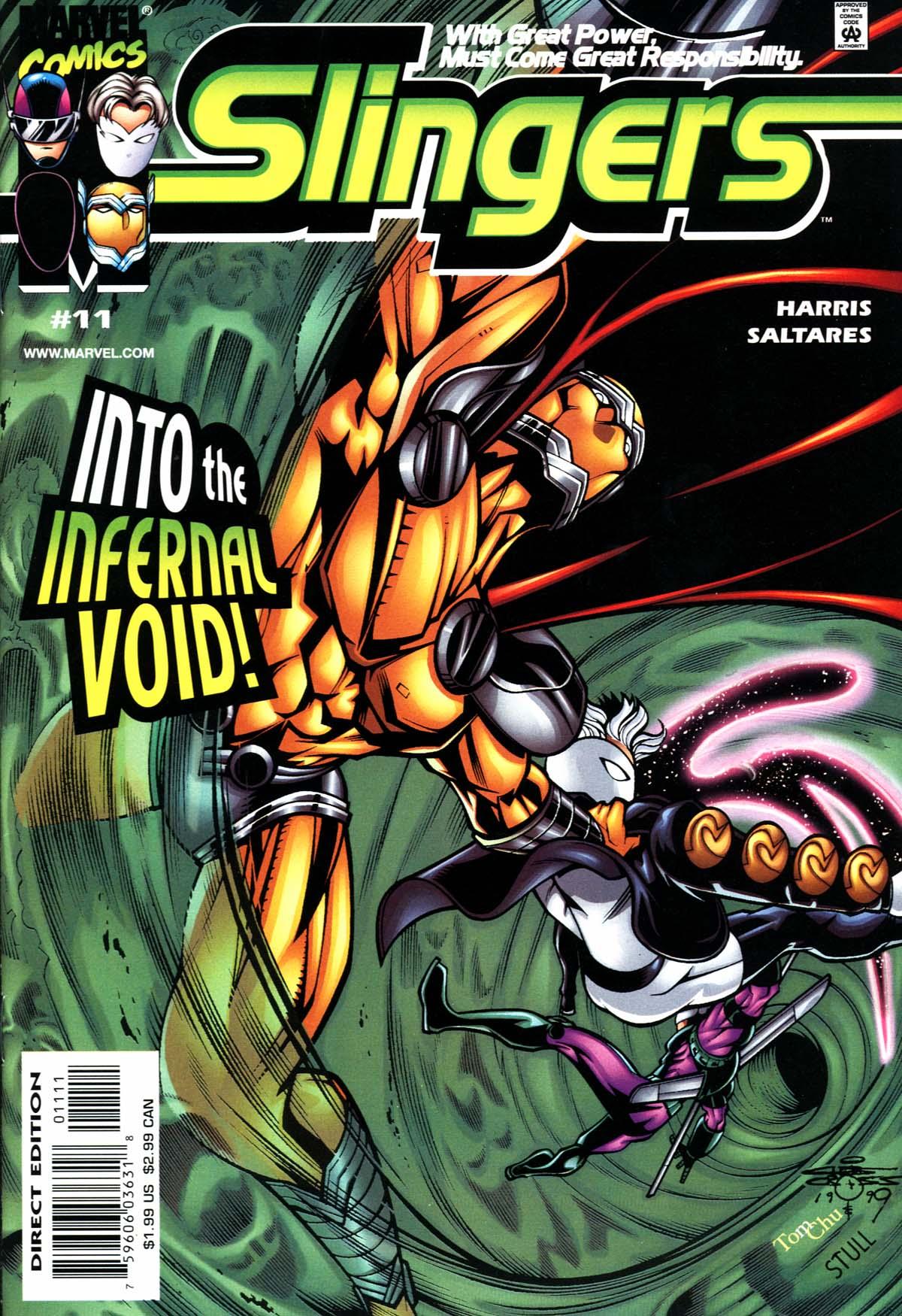 Read online Slingers comic -  Issue #11 - 1