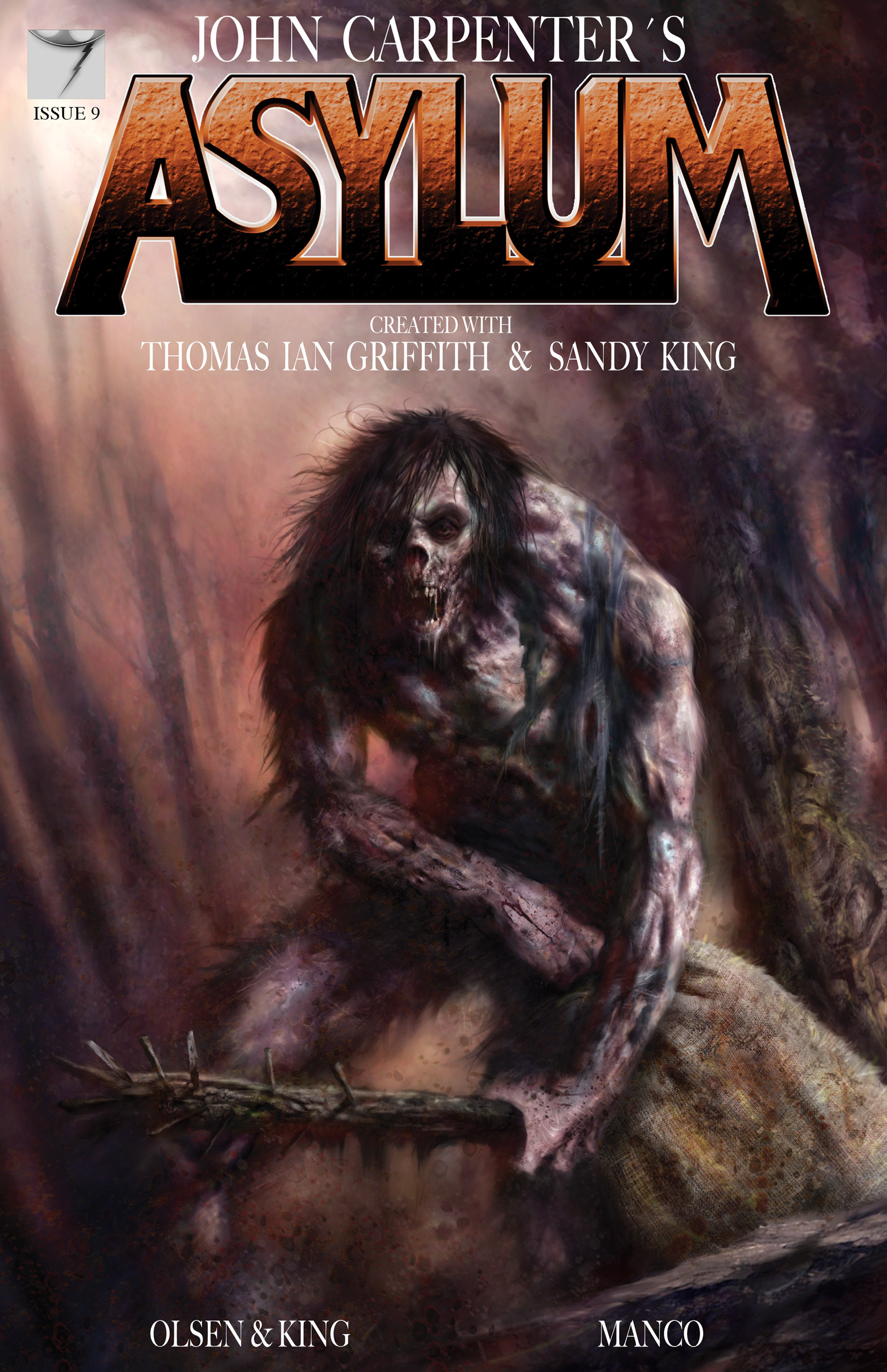 Read online John Carpenter's Asylum comic -  Issue #9 - 1